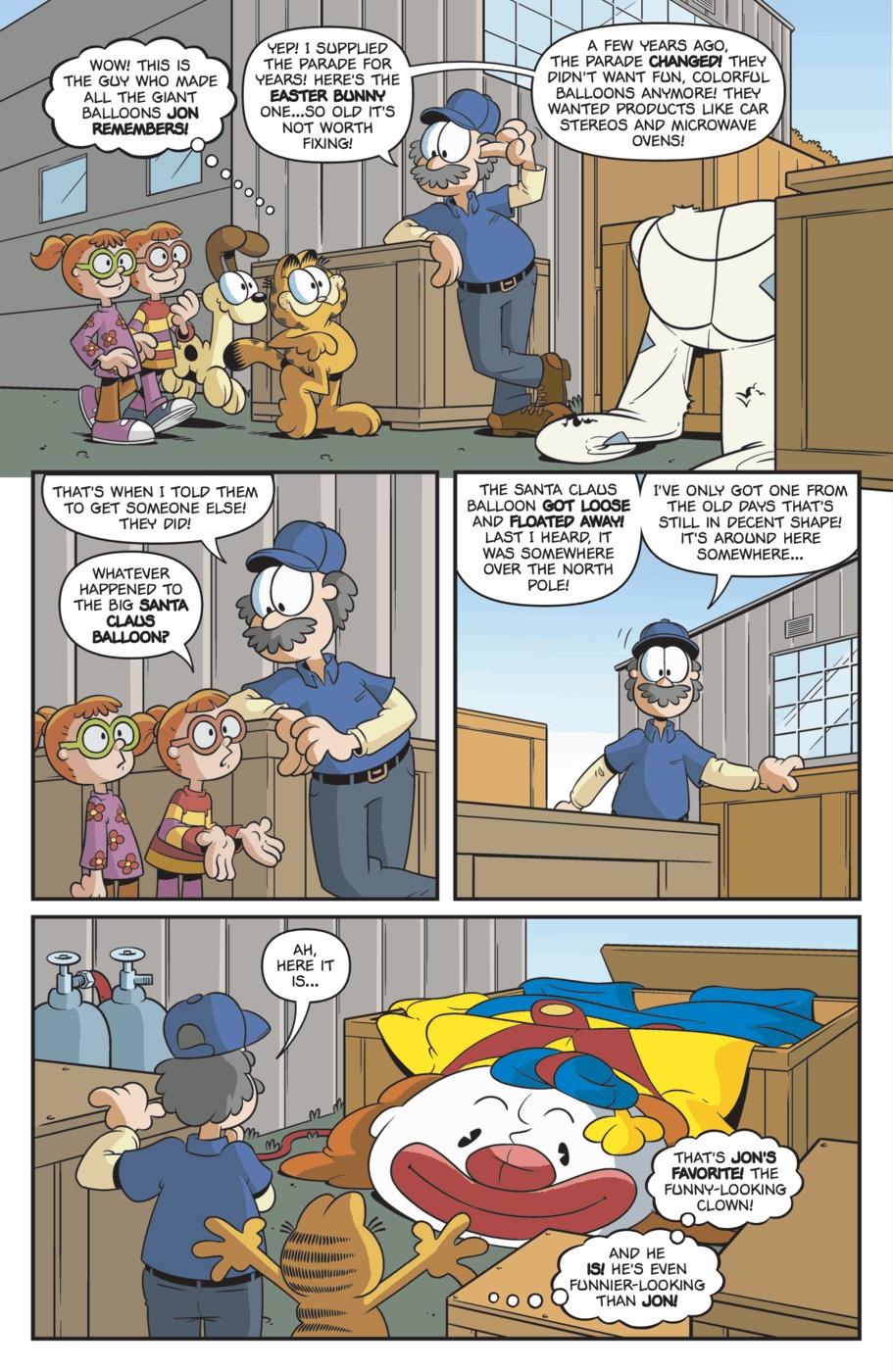 Comic Garfield Issue 18