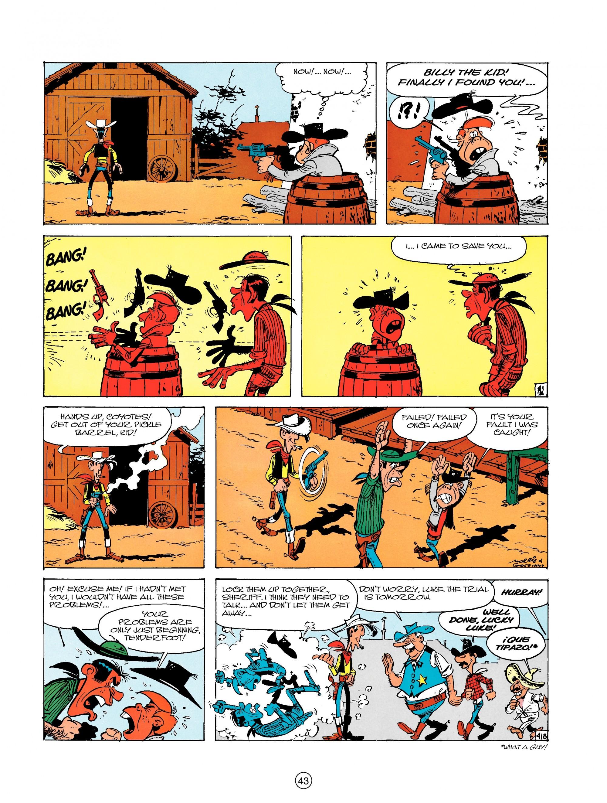 Read online A Lucky Luke Adventure comic -  Issue #18 - 43