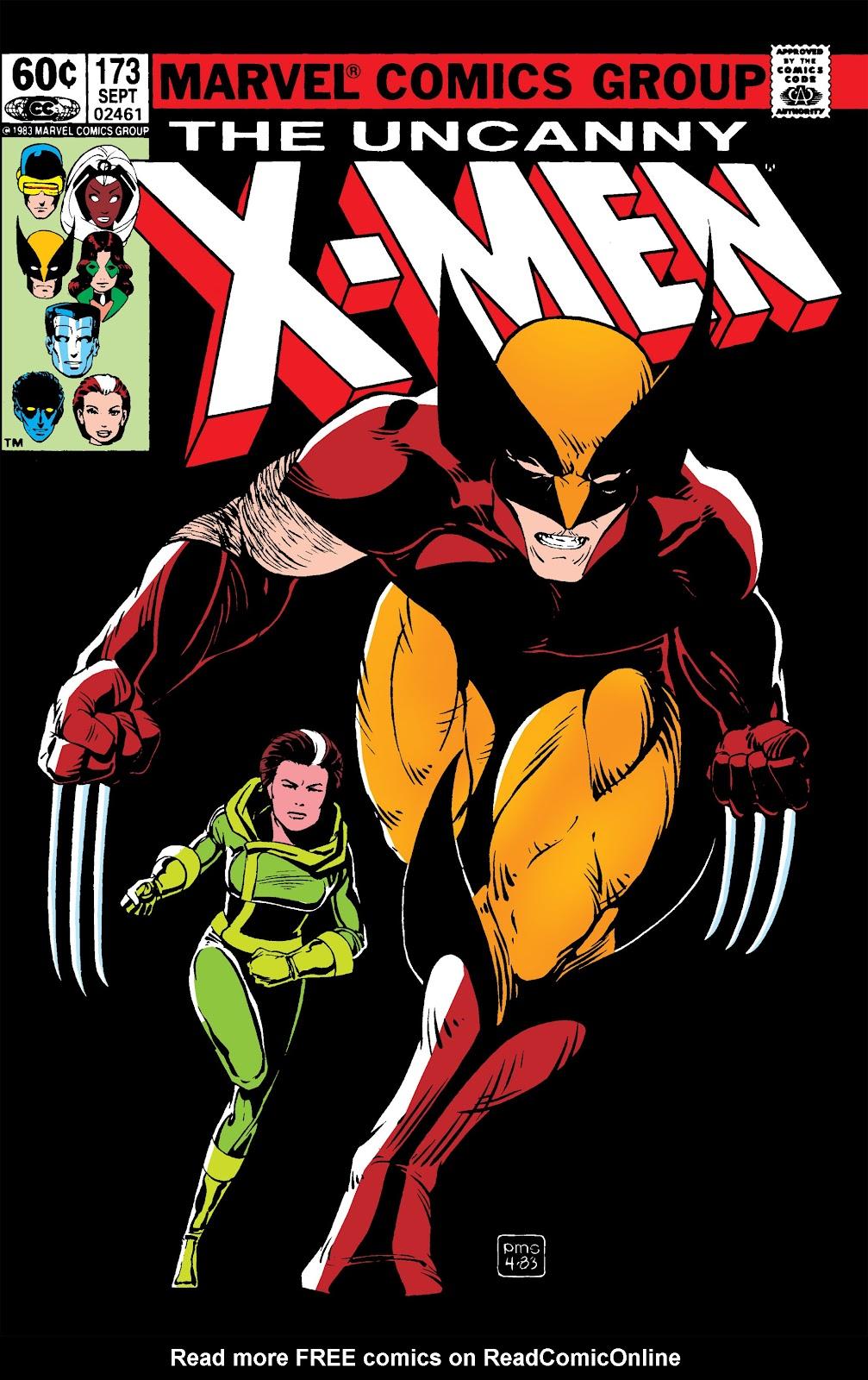 Uncanny X-Men (1963) issue 173 - Page 1