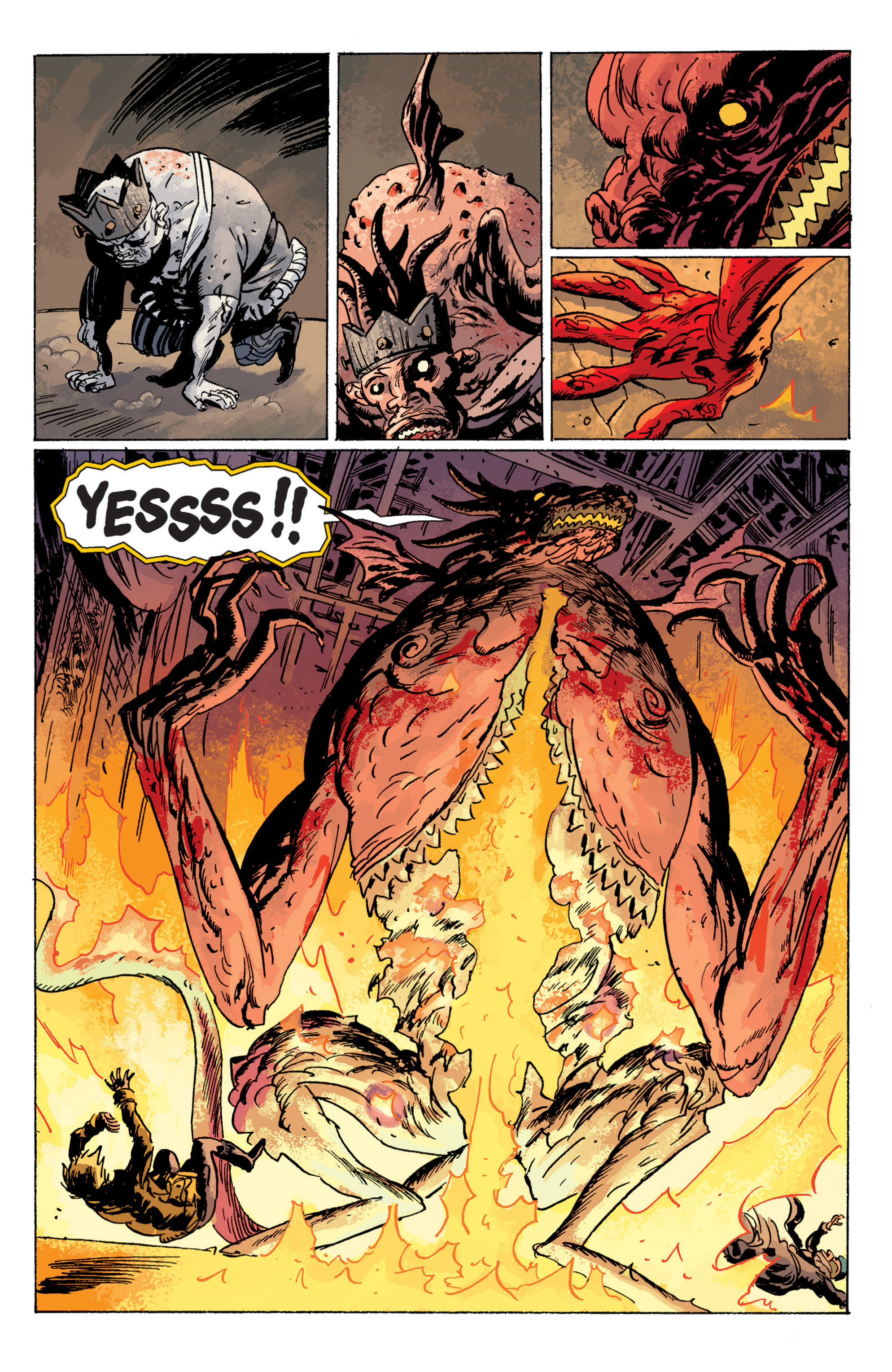 Read online B.P.R.D. (2003) comic -  Issue # TPB 6 - 122