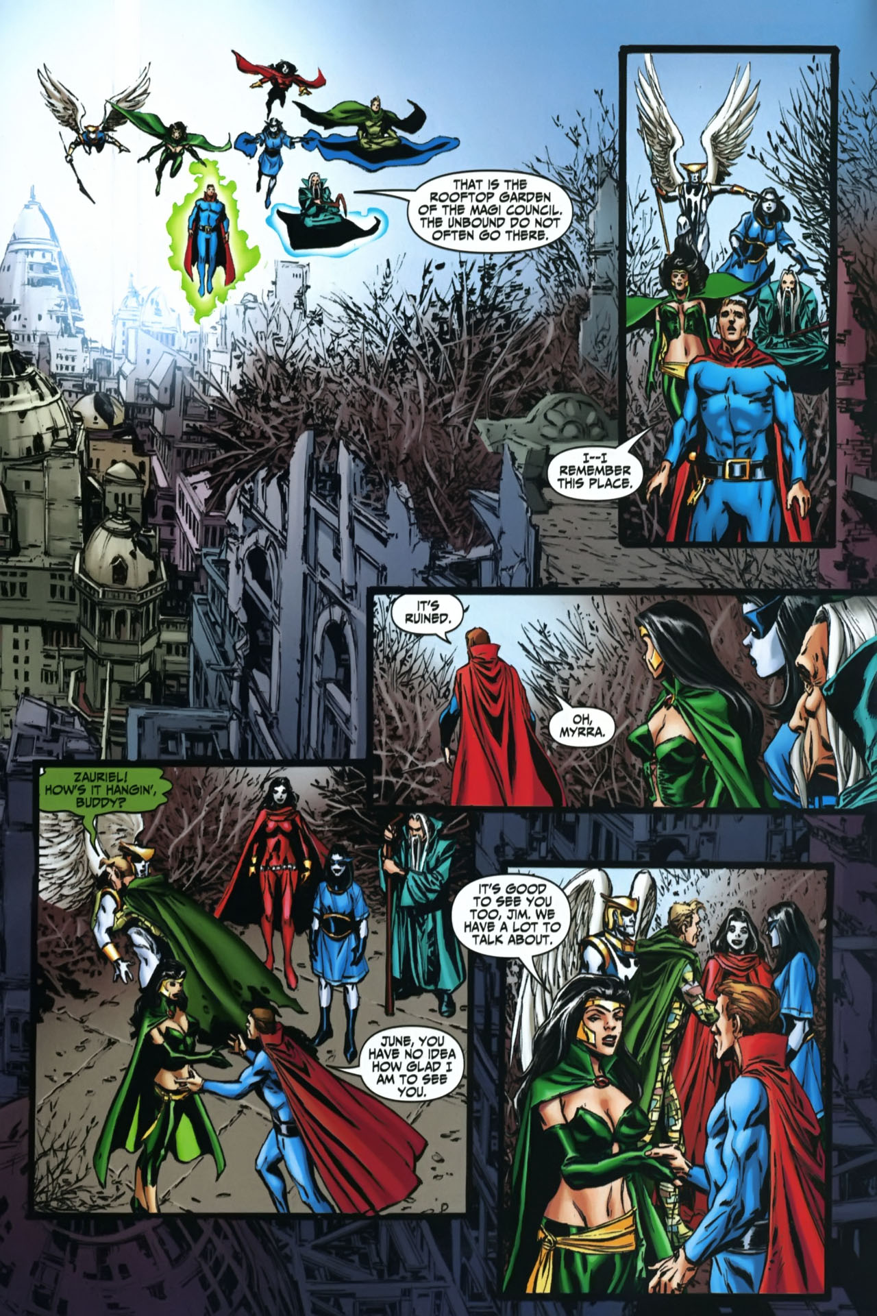 Read online Shadowpact comic -  Issue #22 - 4