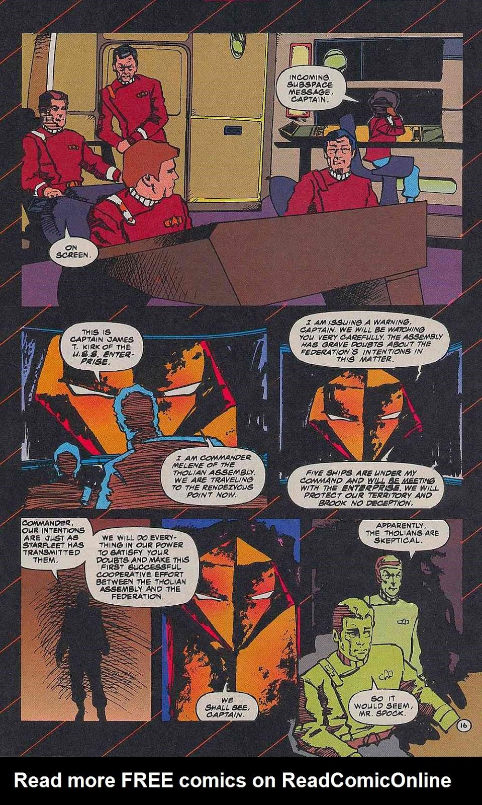 Read online Star Trek (1989) comic -  Issue # _Special 2 - 19