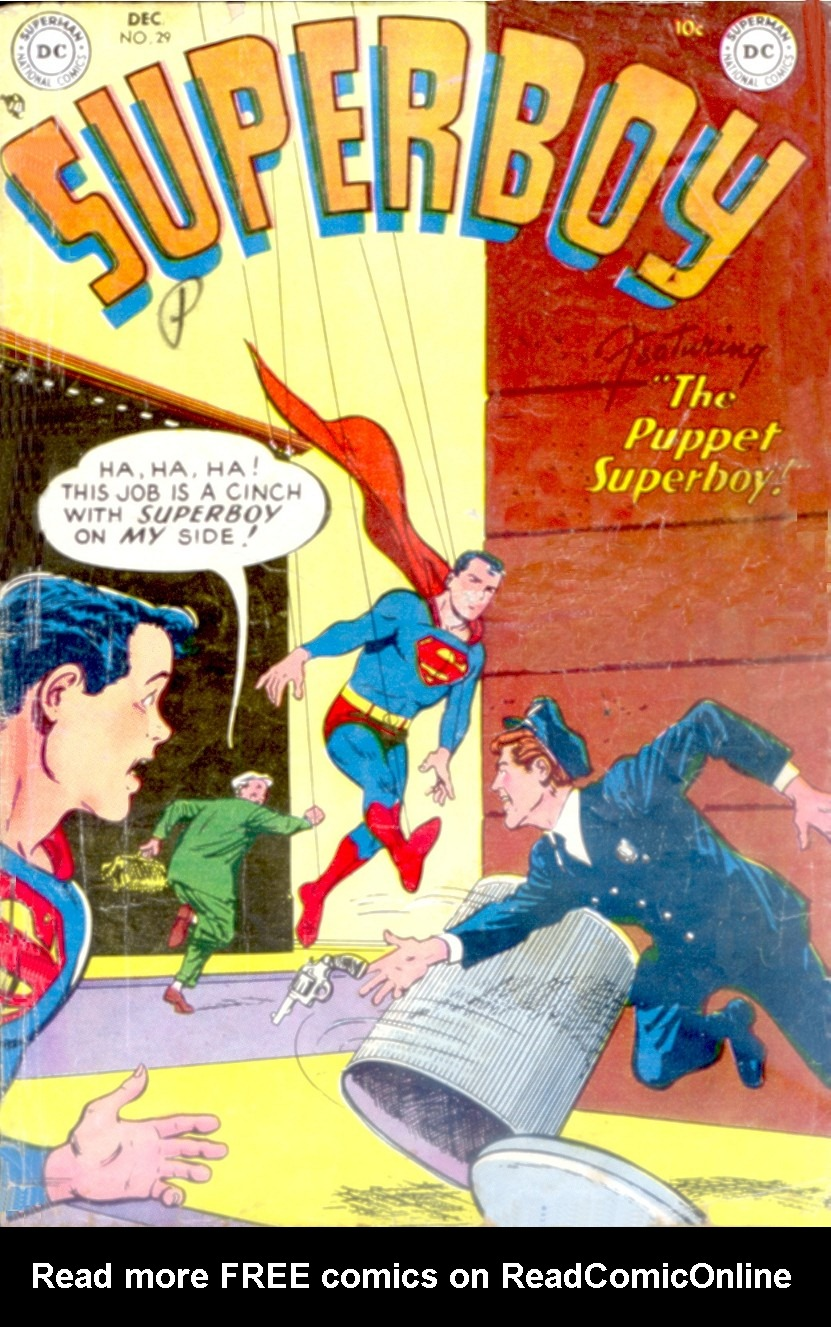 Superboy (1949) issue 29 - Page 1