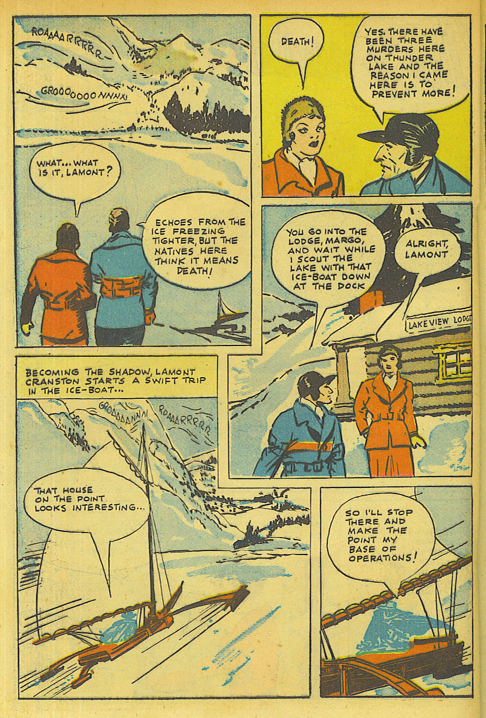 Read online Shadow Comics comic -  Issue #63 - 28