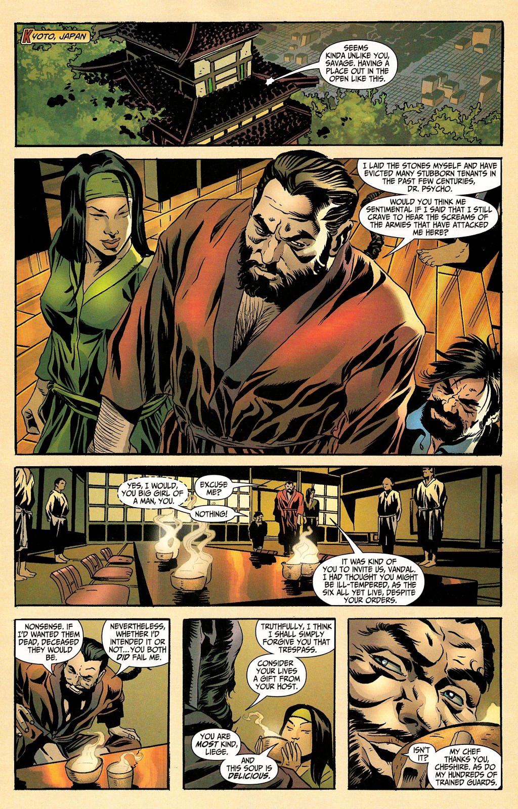 Read online Secret Six (2006) comic -  Issue #4 - 3