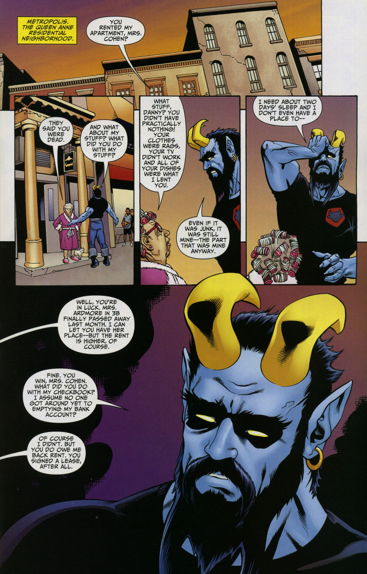 Read online Shadowpact comic -  Issue #5 - 15