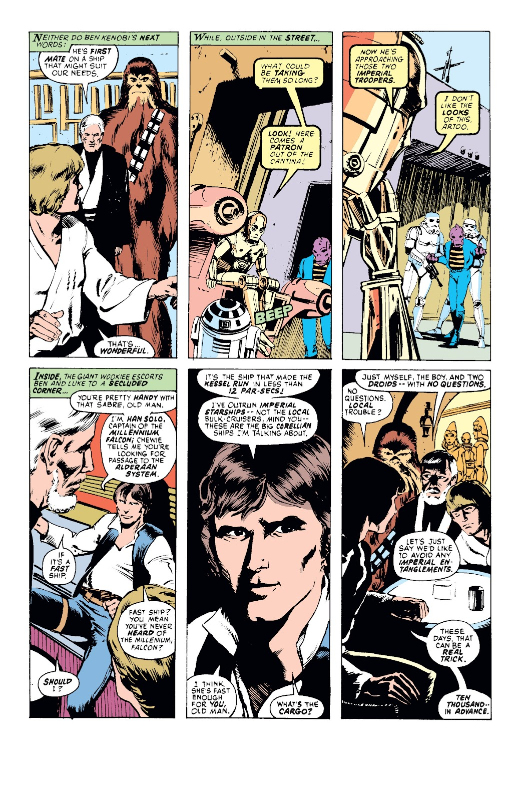 Read online Star Wars Legends: The Original Marvel Years - Epic Collection comic -  Issue # TPB 1 (Part 1) - 34