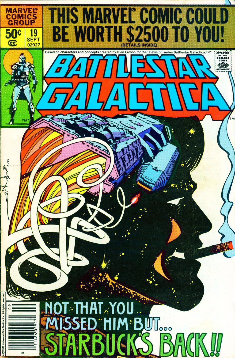 Battlestar Galactica 19 Page 1