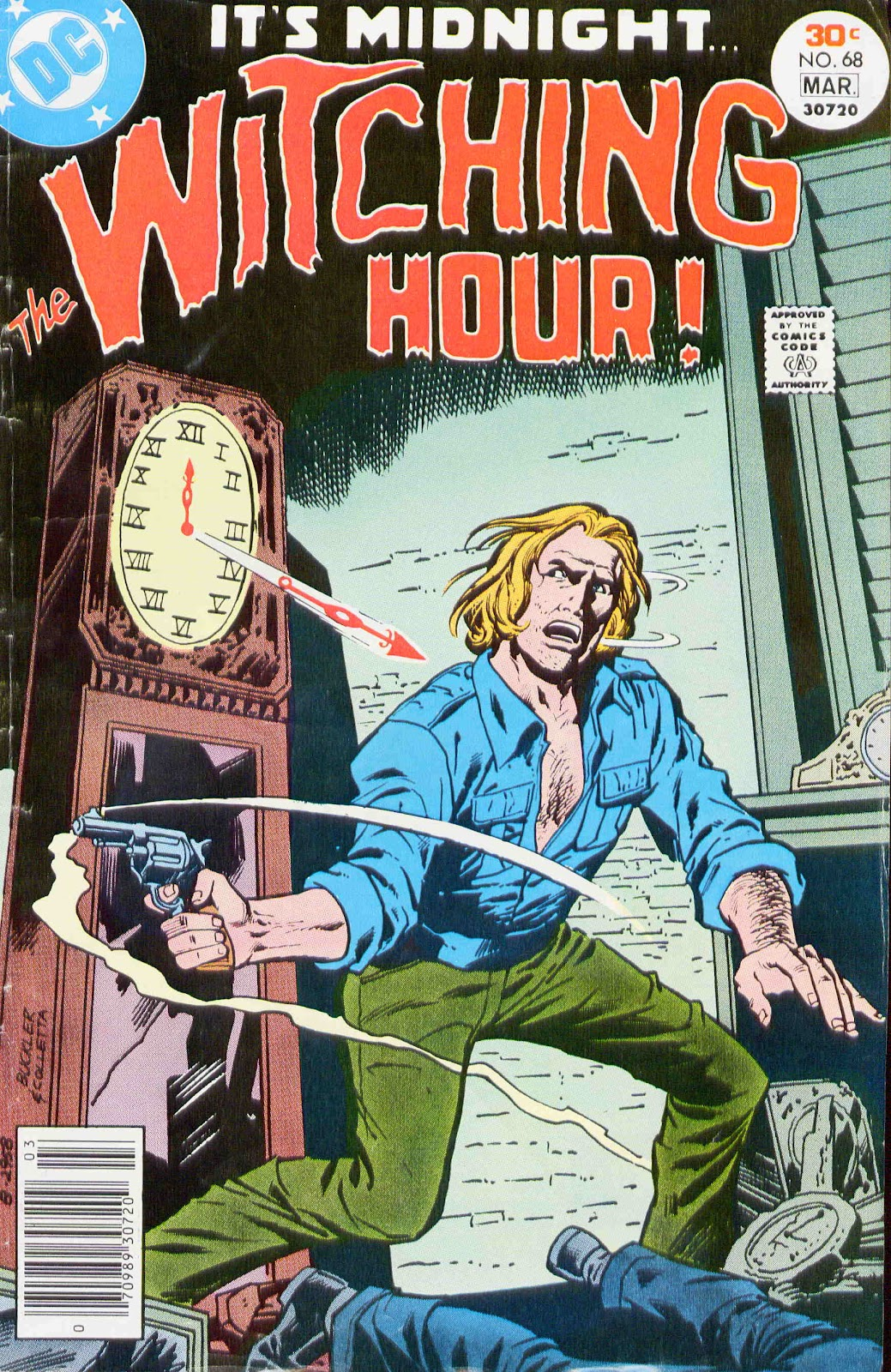 The Witching Hour (1969) issue 68 - Page 1