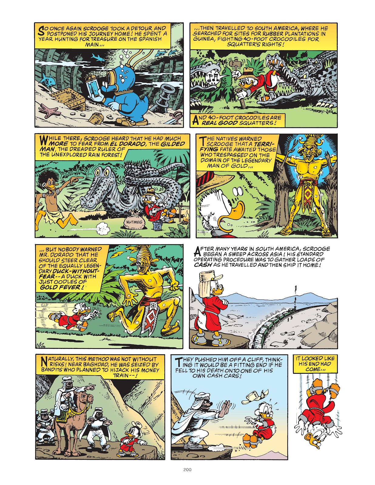 Read online The Complete Life and Times of Scrooge McDuck comic -  Issue # TPB 1 (Part 2) - 95