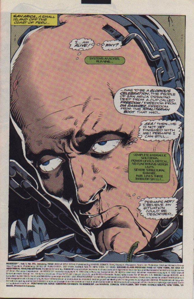 Read online Robocop (1990) comic -  Issue #23 - 2