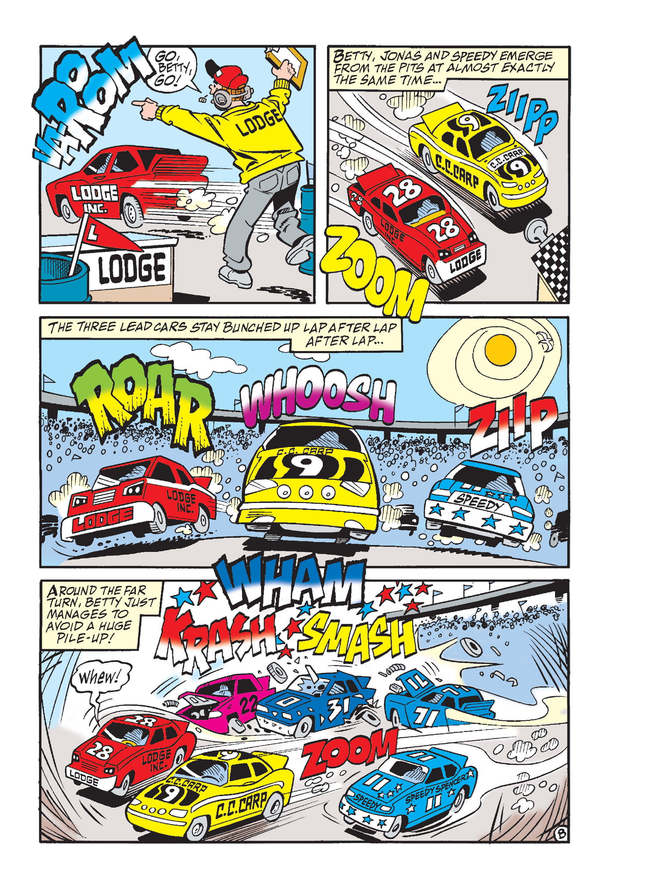 Read online Archie's Funhouse Double Digest comic -  Issue #17 - 100