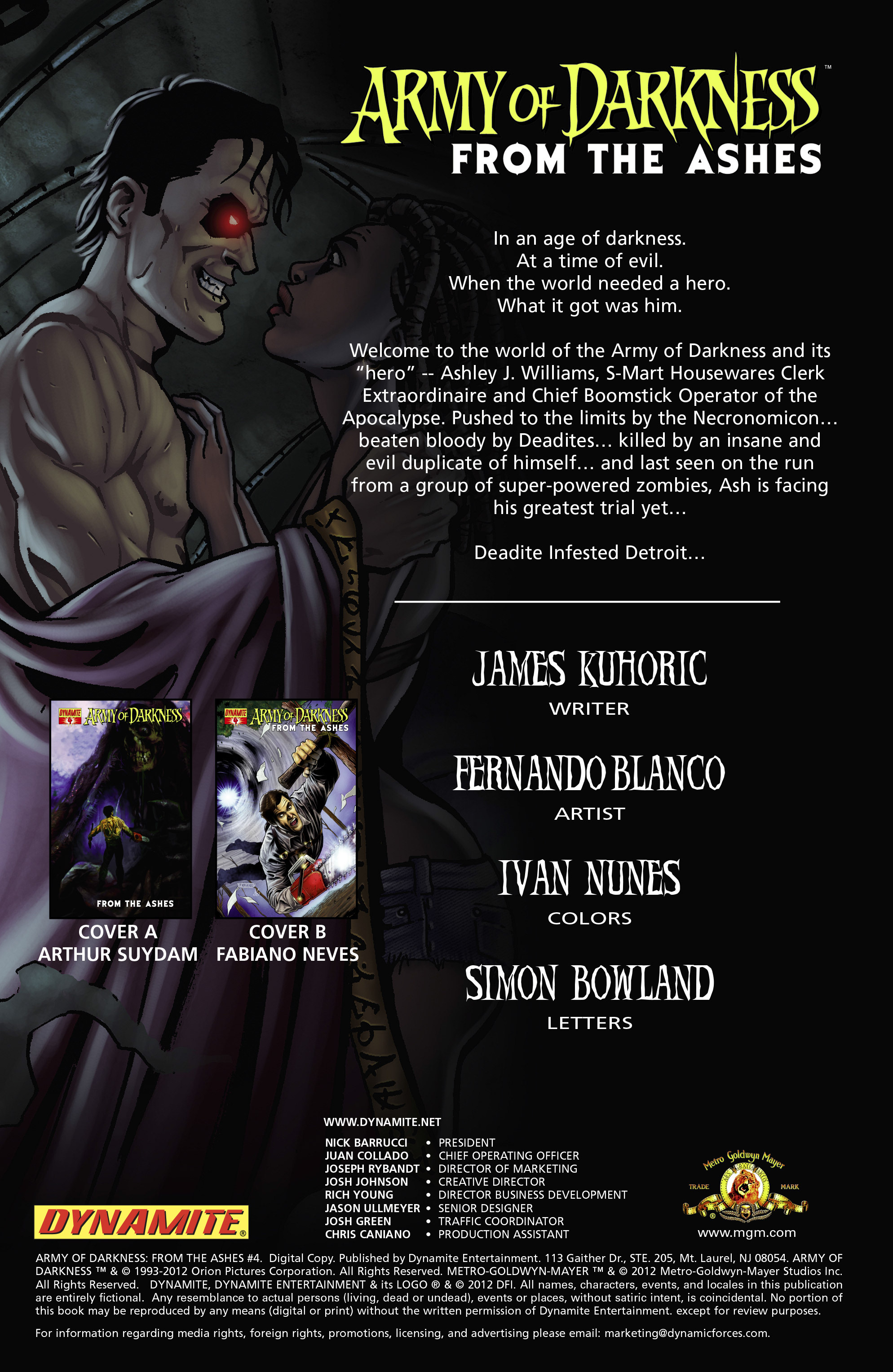 Read online Army of Darkness: From the Ashes comic -  Issue #Army of Darkness: From the Ashes TPB - 78