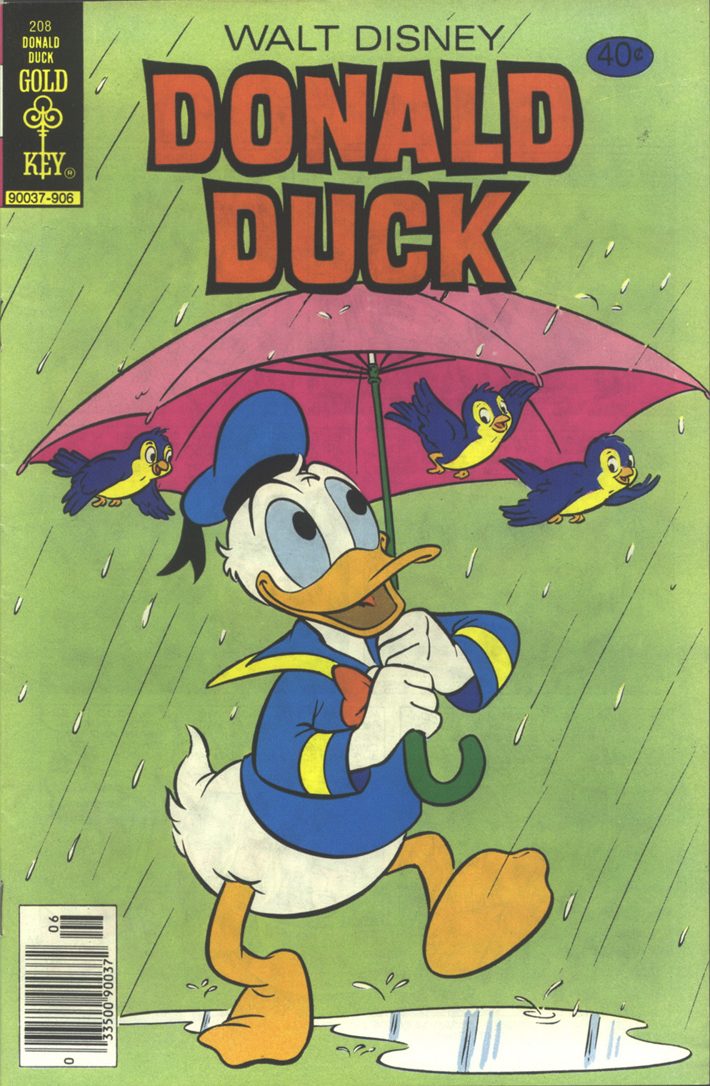 Donald Duck (1962) 208 Page 1