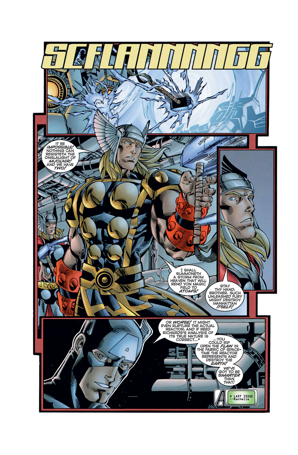 Read online Avengers (1996) comic -  Issue #11 - 10