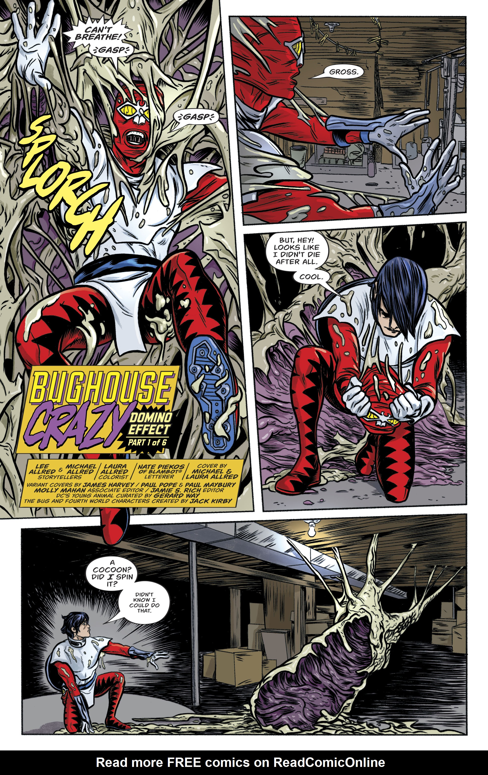 Read online Bug! The Adventures of Forager comic -  Issue #1 - 5