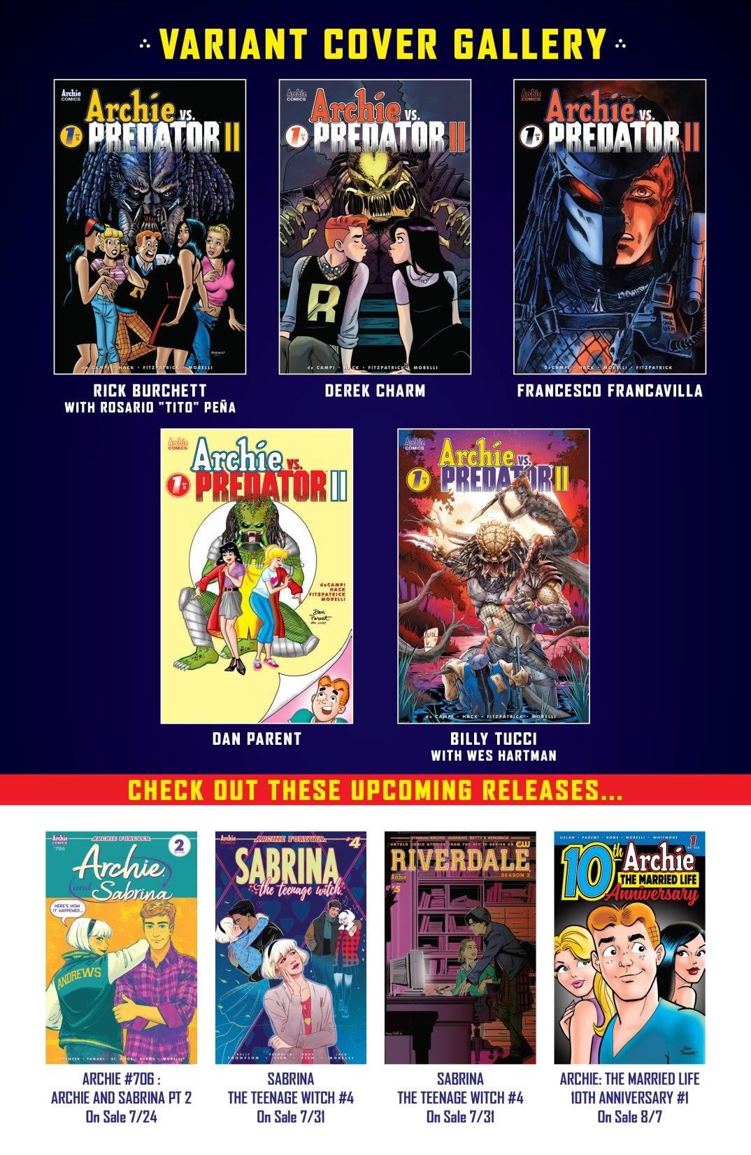 Archie vs. Predator II #1 #1 - English 25