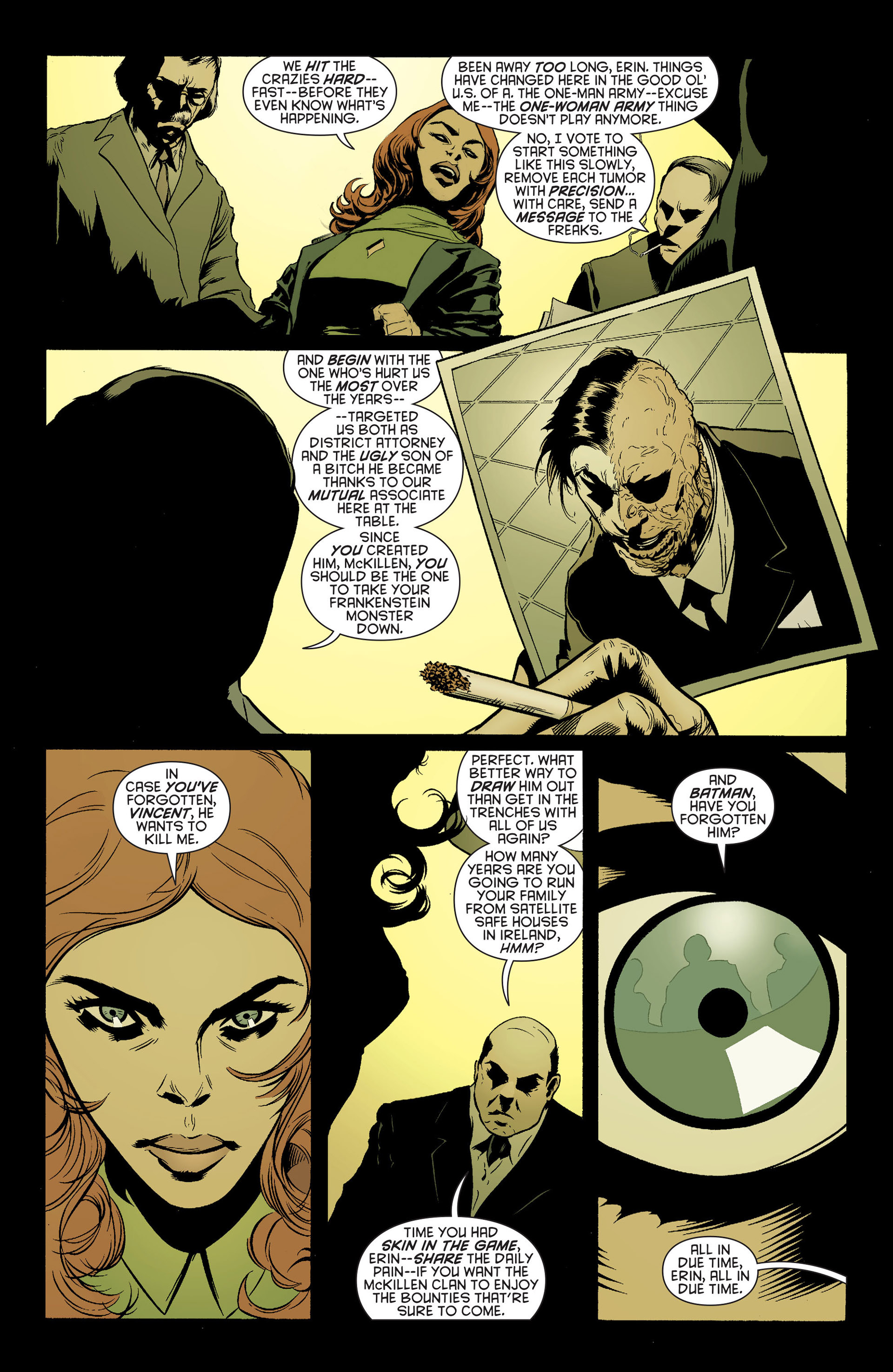 Read online Batman and Robin (2011) comic -  Issue #24 - Batman and Two-Face - 10