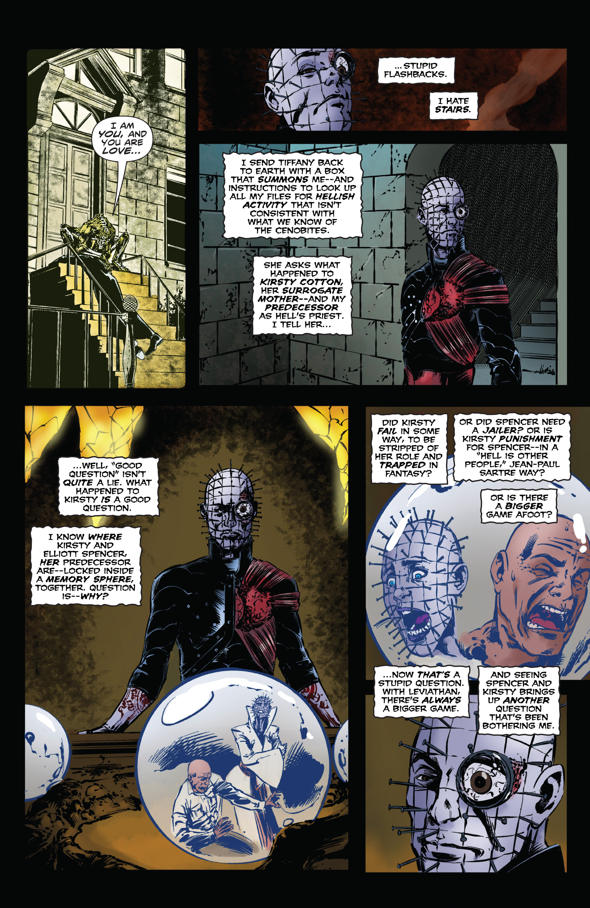Read online Clive Barker's Hellraiser: The Dark Watch comic -  Issue # TPB 1 - 80