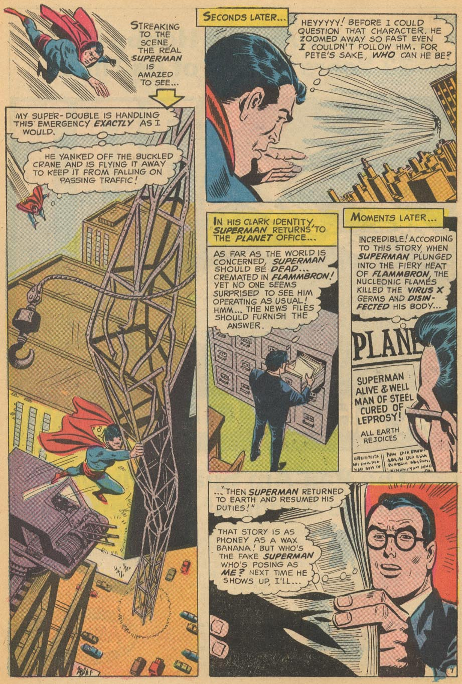 Read online Action Comics (1938) comic -  Issue #366 - 10