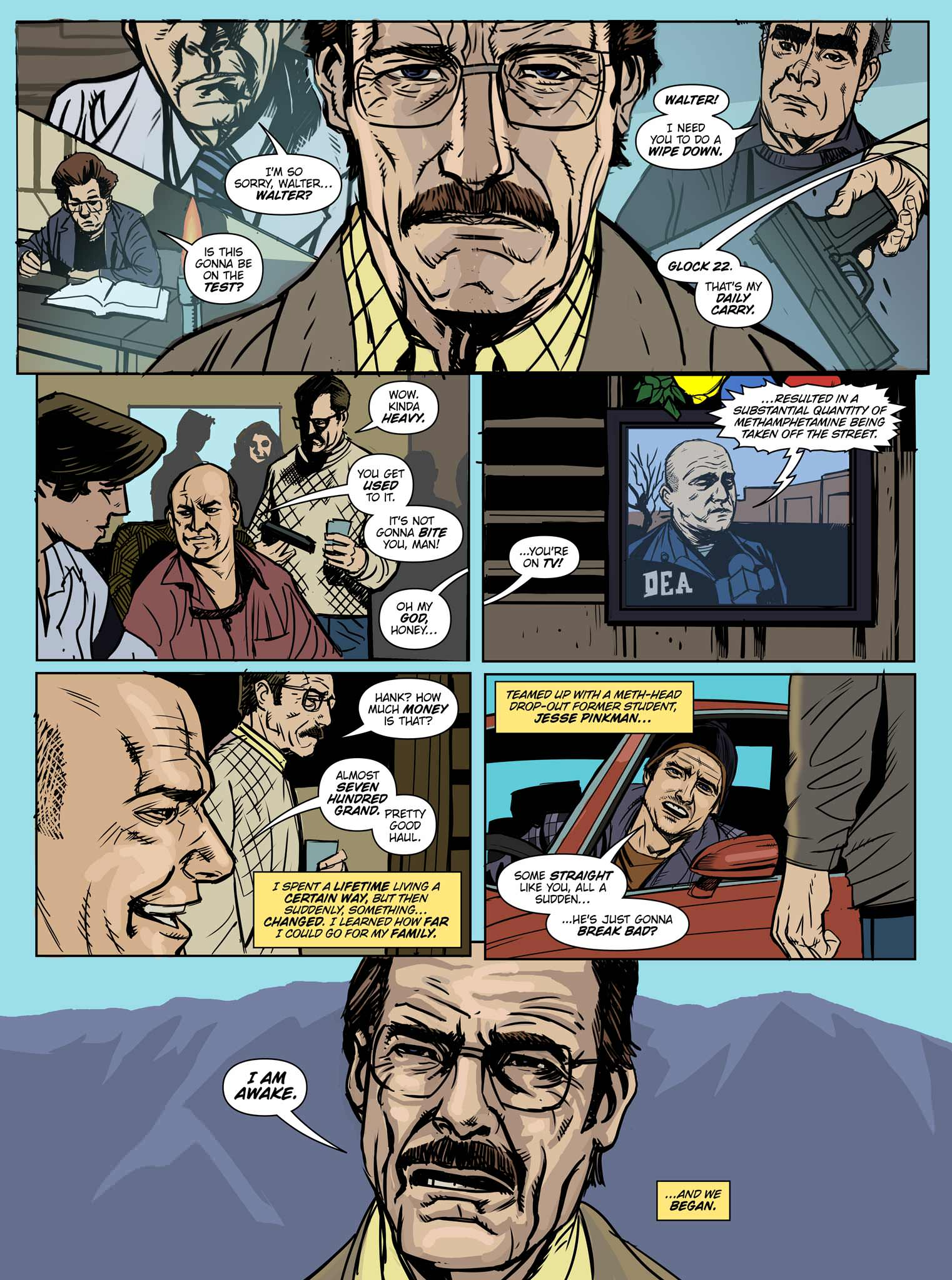 Read online Breaking Bad: All Bad Things comic -  Issue # Full - 3
