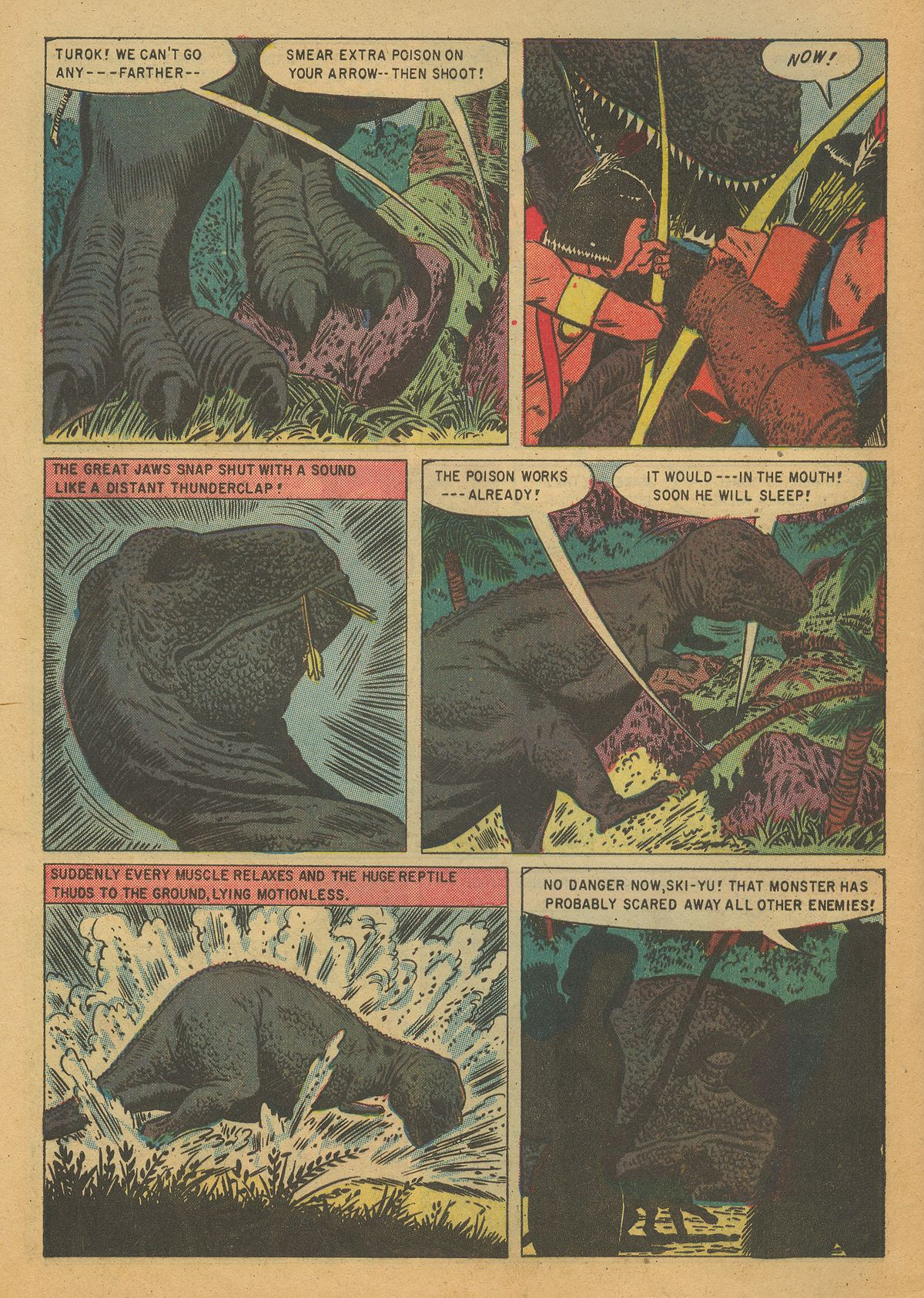 Read online Turok, Son of Stone comic -  Issue #7 - 8