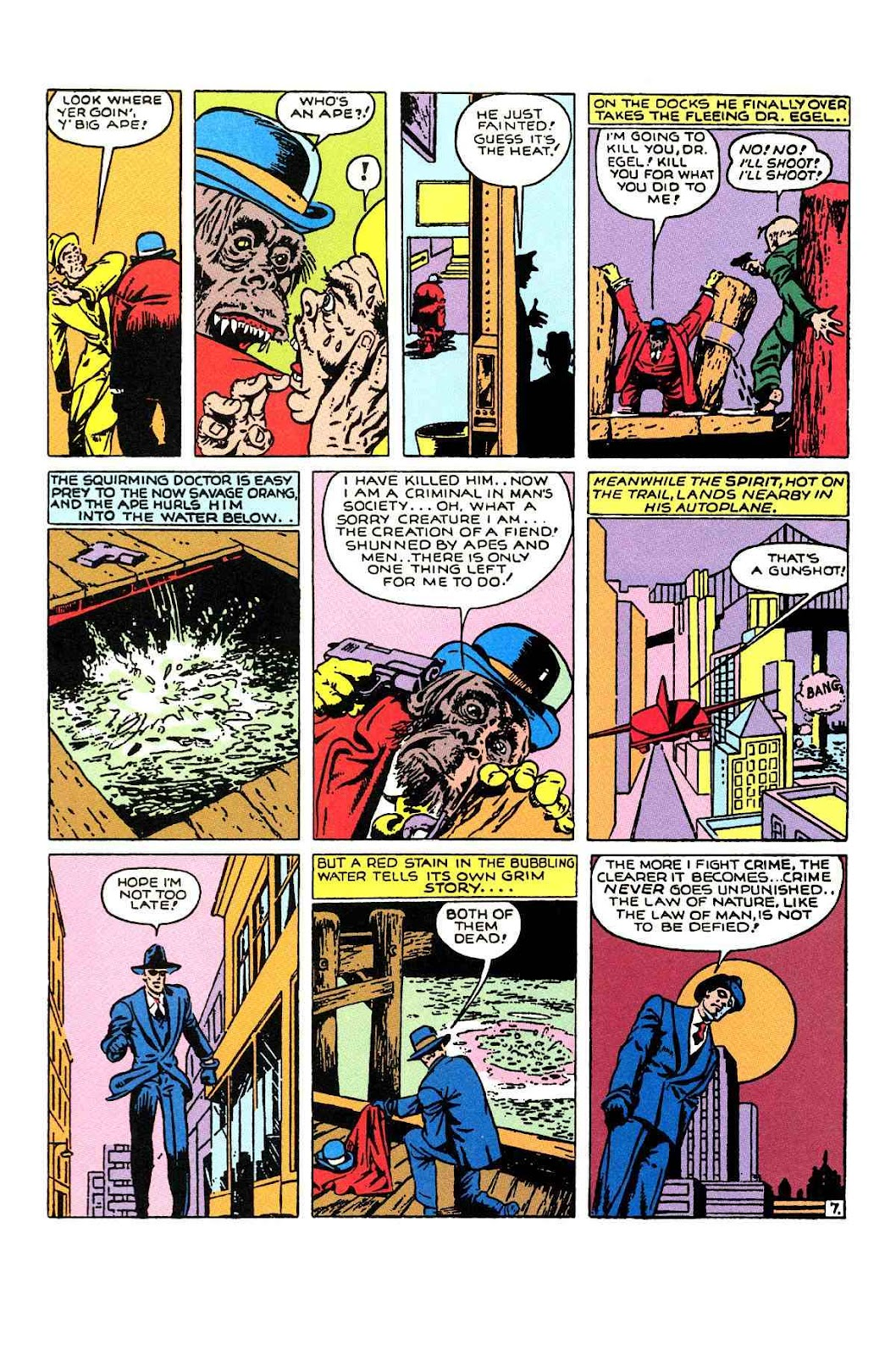 Read online Will Eisner's The Spirit Archives comic -  Issue # TPB 1 (Part 1) - 99