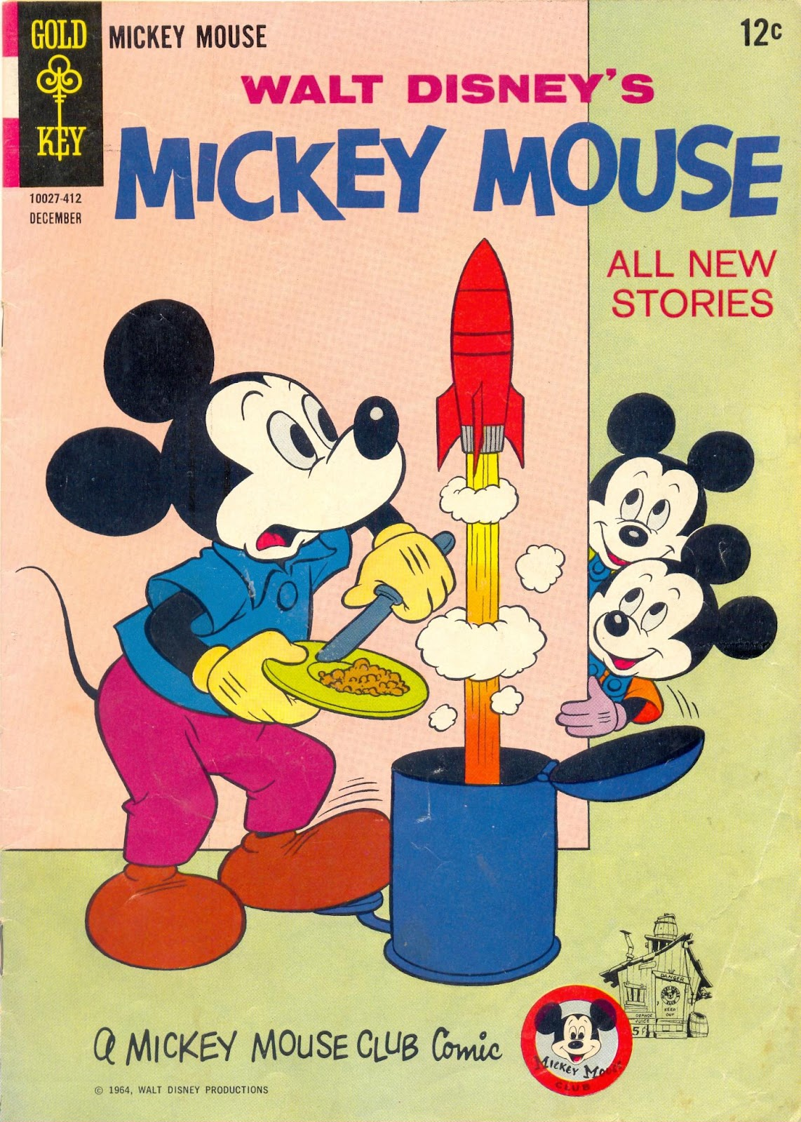 Walt Disney's Mickey Mouse issue 98 - Page 1