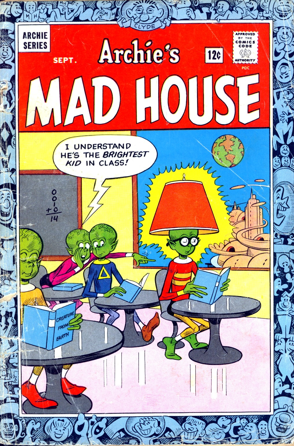 Archie's Madhouse issue 35 - Page 1