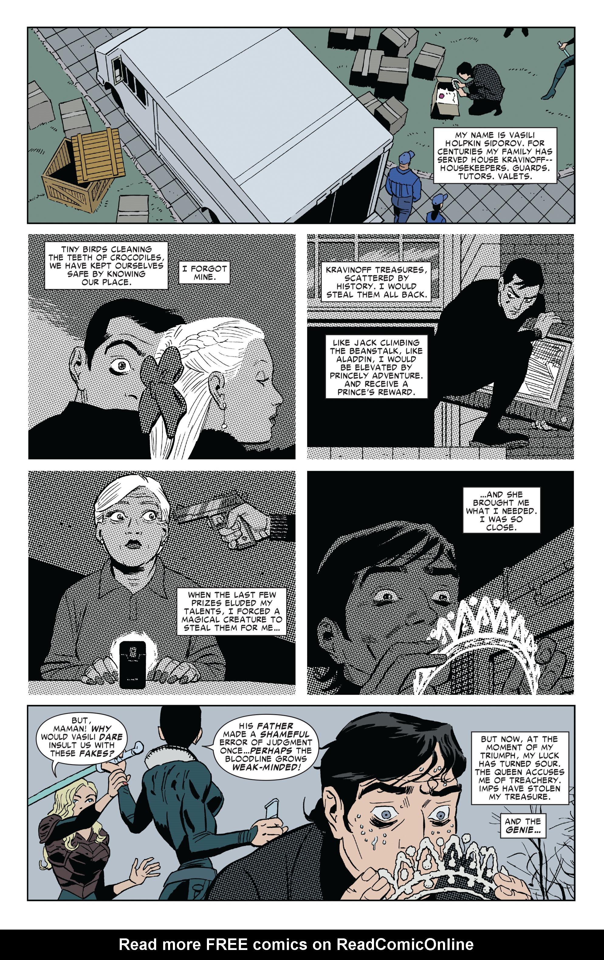 Read online Amazing Spider-Man Presents: Black Cat comic -  Issue #4 - 4