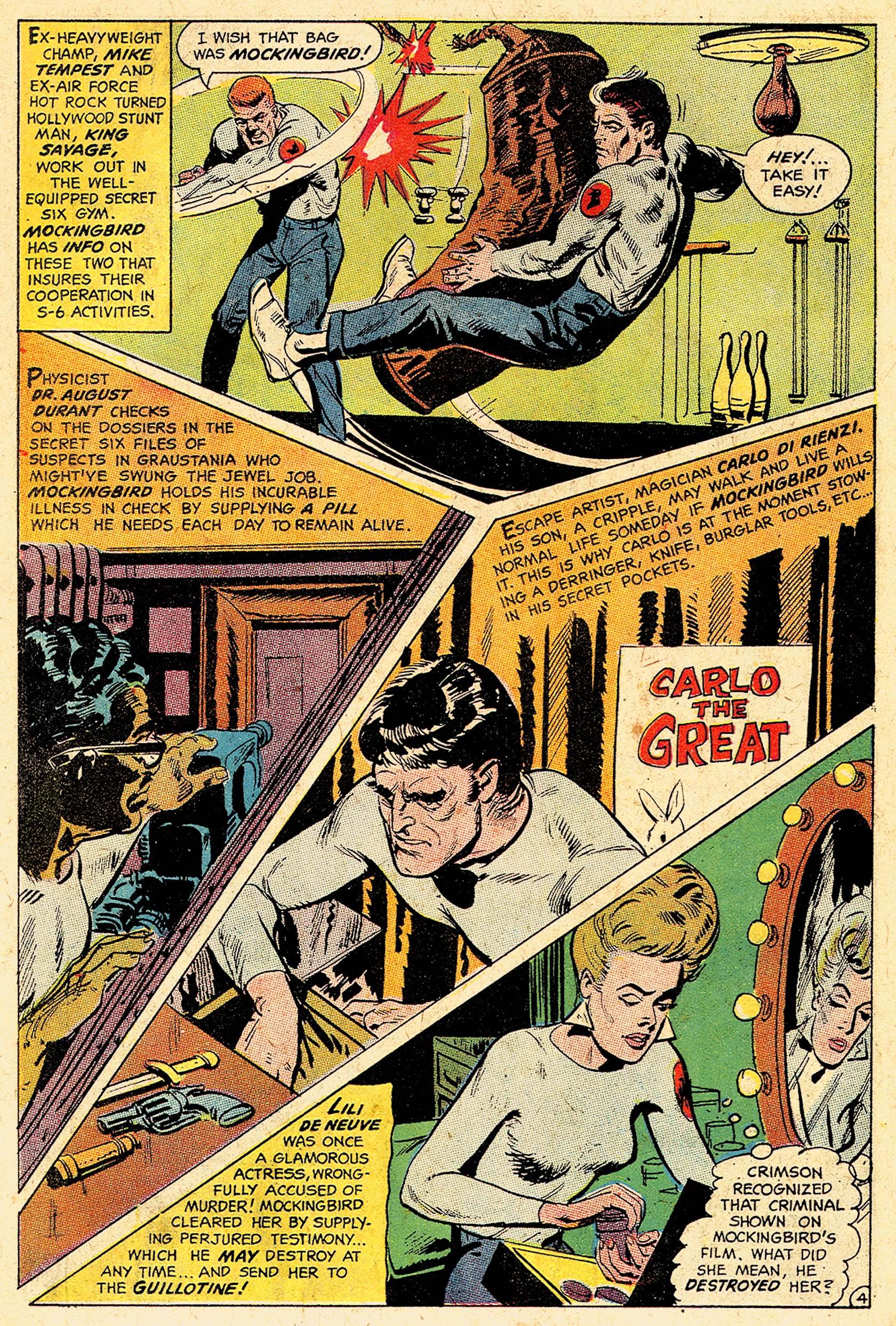 Read online Secret Six (1968) comic -  Issue #5 - 6