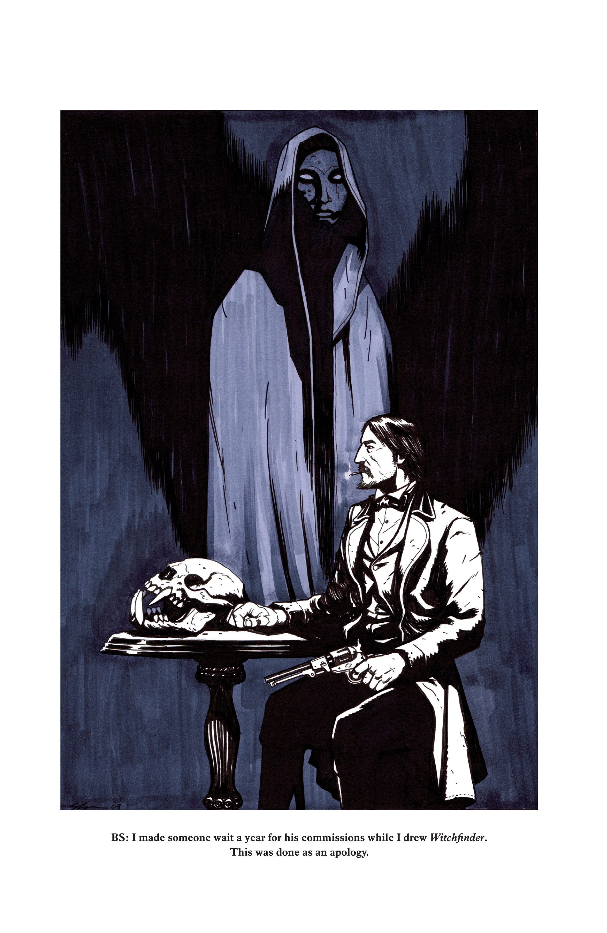 Read online Sir Edward Grey, Witchfinder: In the Service of Angels comic -  Issue # TPB - 147
