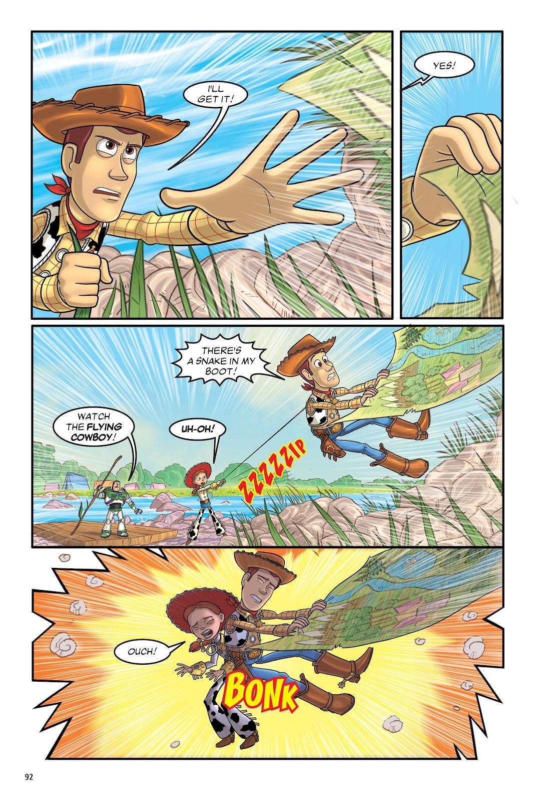 Read online DISNEY·PIXAR Toy Story Adventures comic -  Issue # TPB 1 (Part 1) - 92