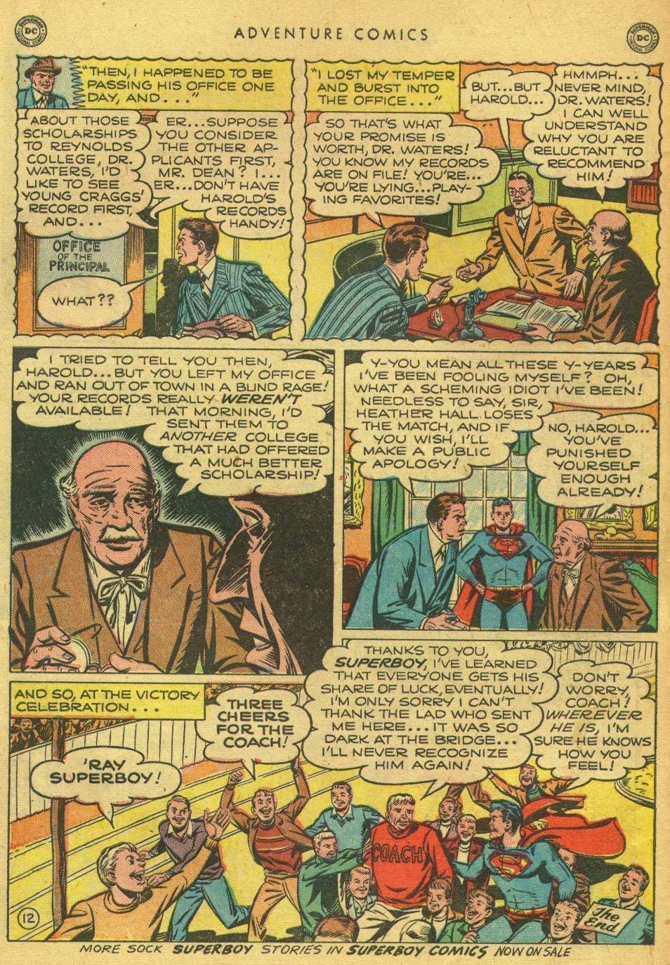 Read online Adventure Comics (1938) comic -  Issue #162 - 14