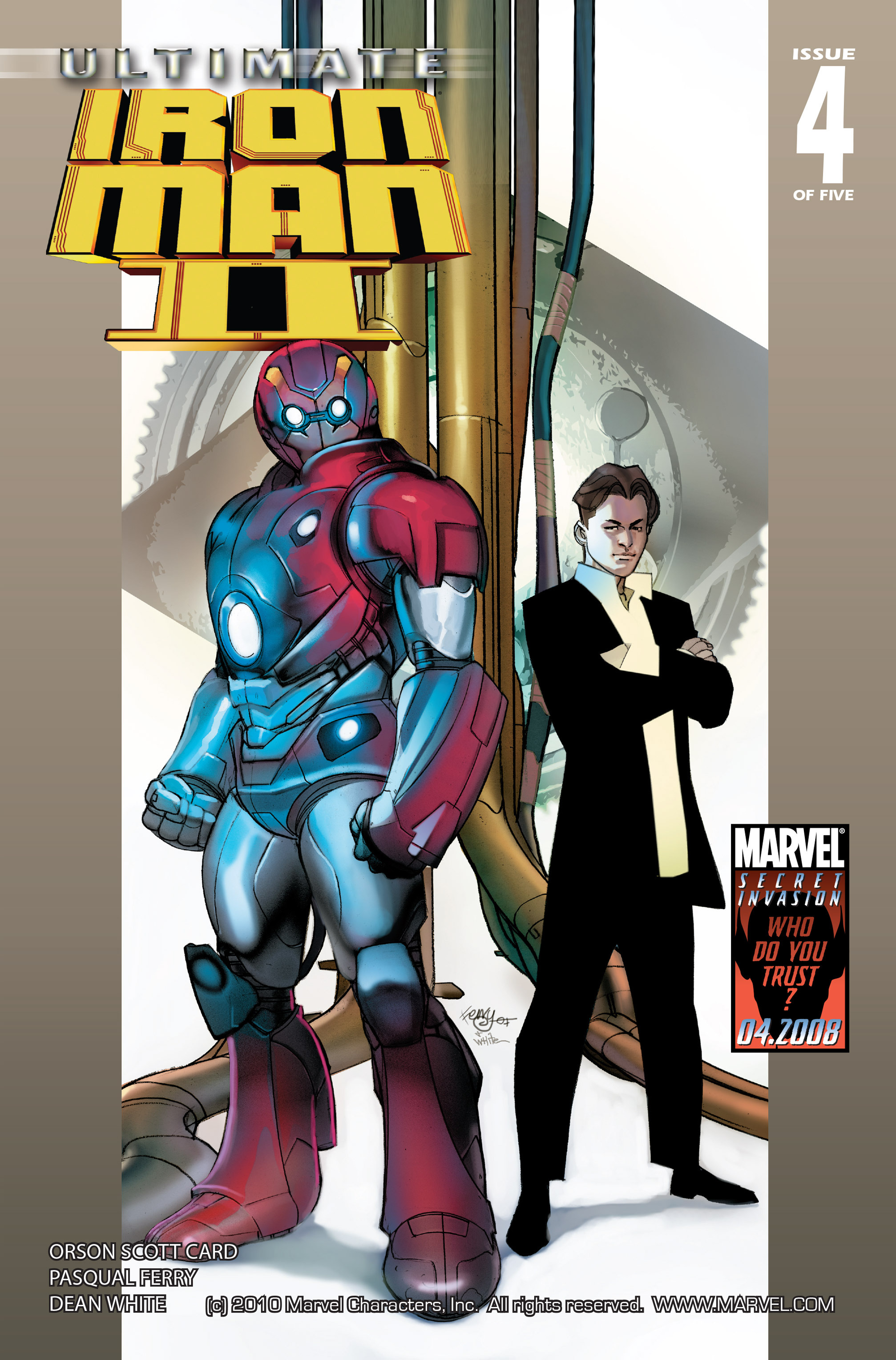 Read online Ultimate Iron Man II comic -  Issue #4 - 1