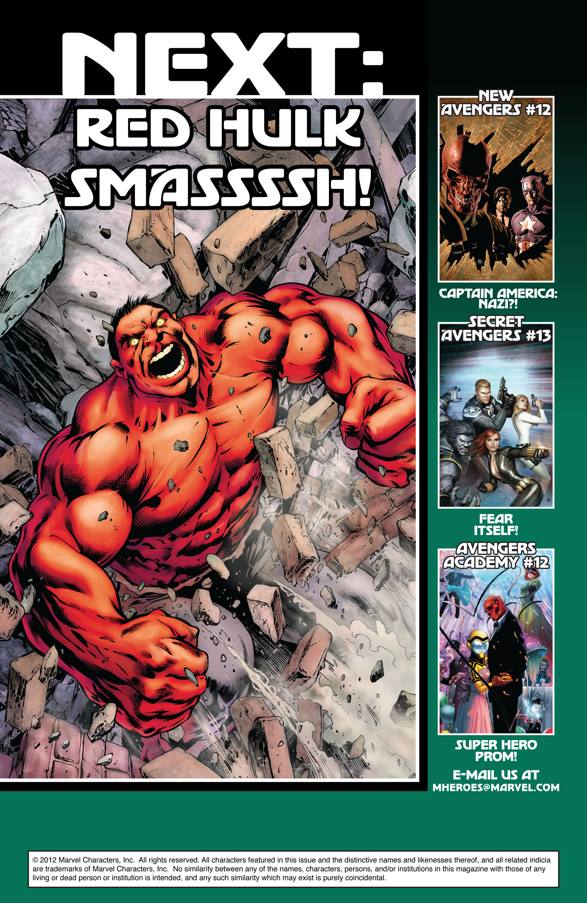Read online Avengers (2010) comic -  Issue #13 - 20