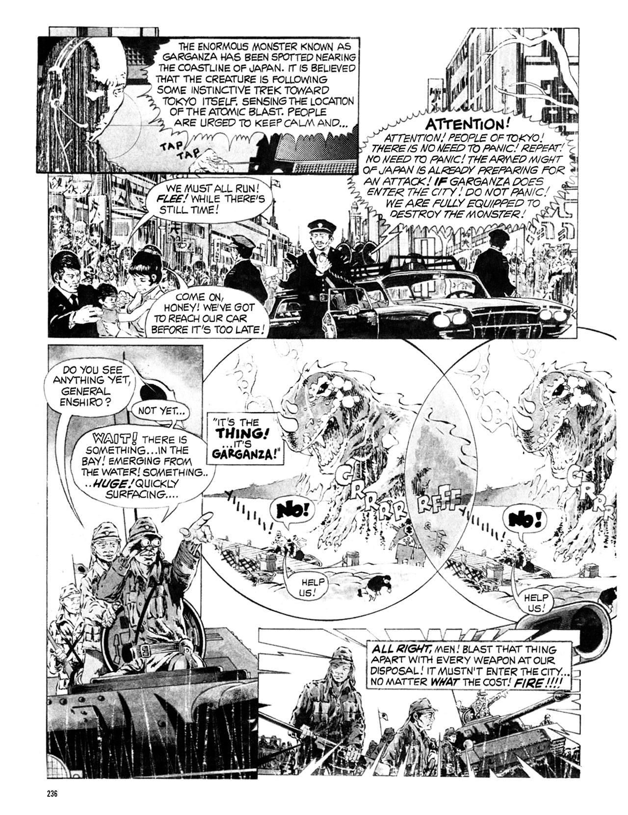Read online Eerie Archives comic -  Issue # TPB 9 - 237