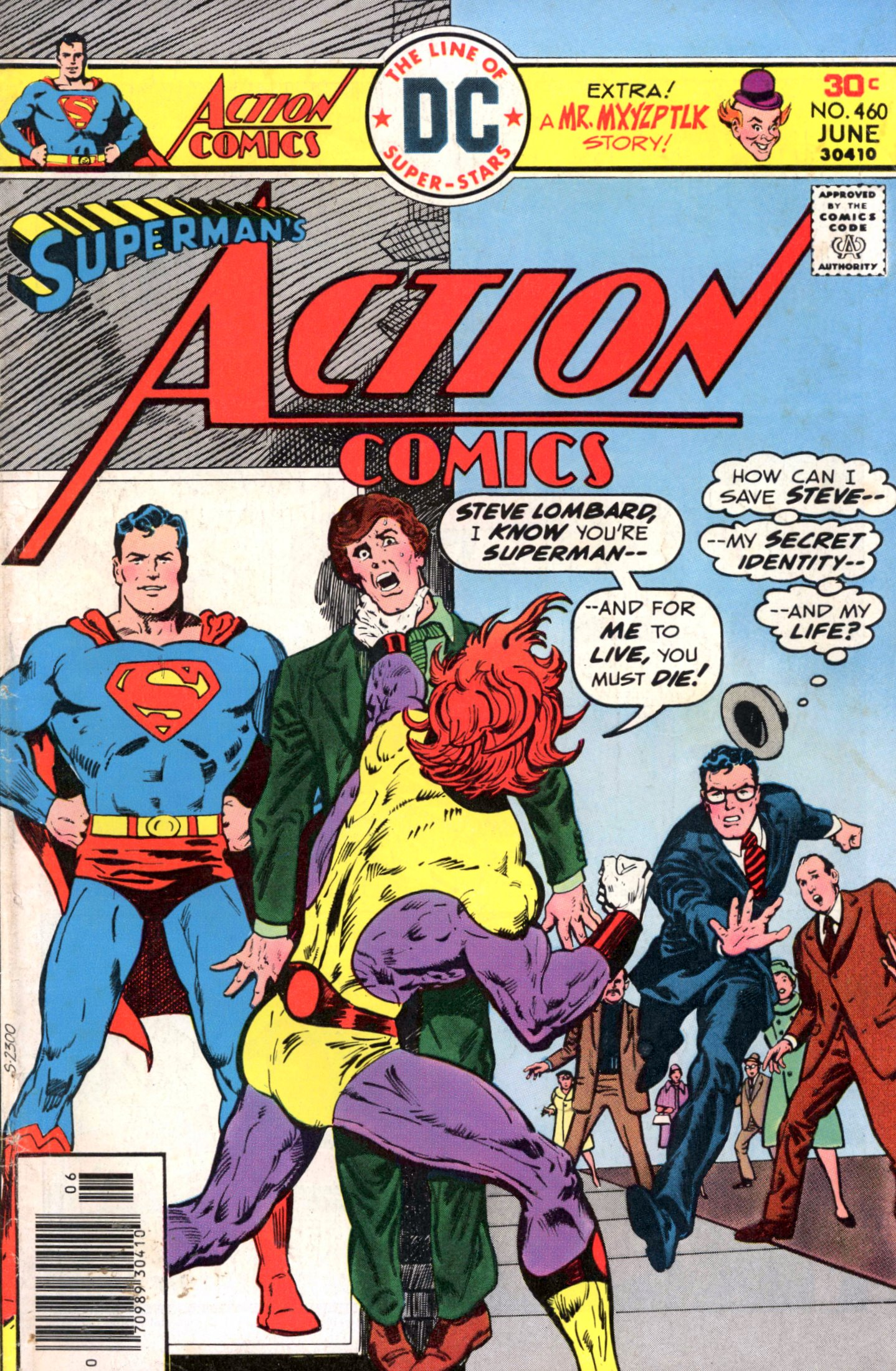 Read online Action Comics (1938) comic -  Issue #460 - 1