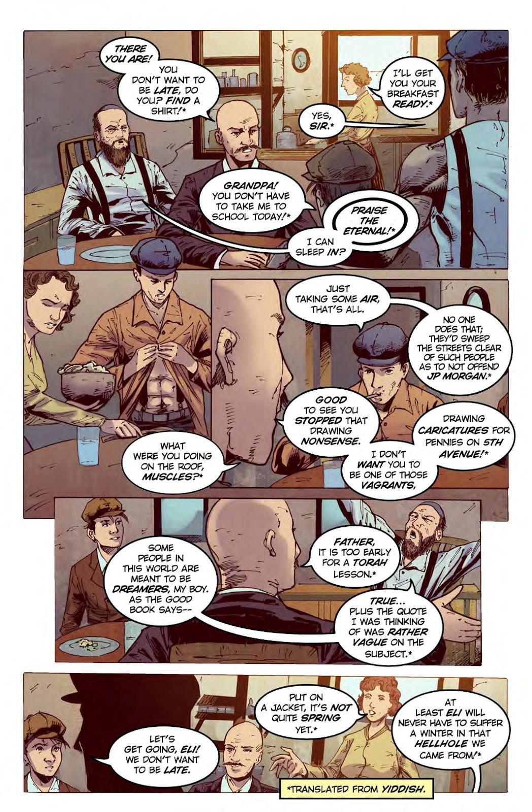 Read online American Dreams comic -  Issue #1 - 5