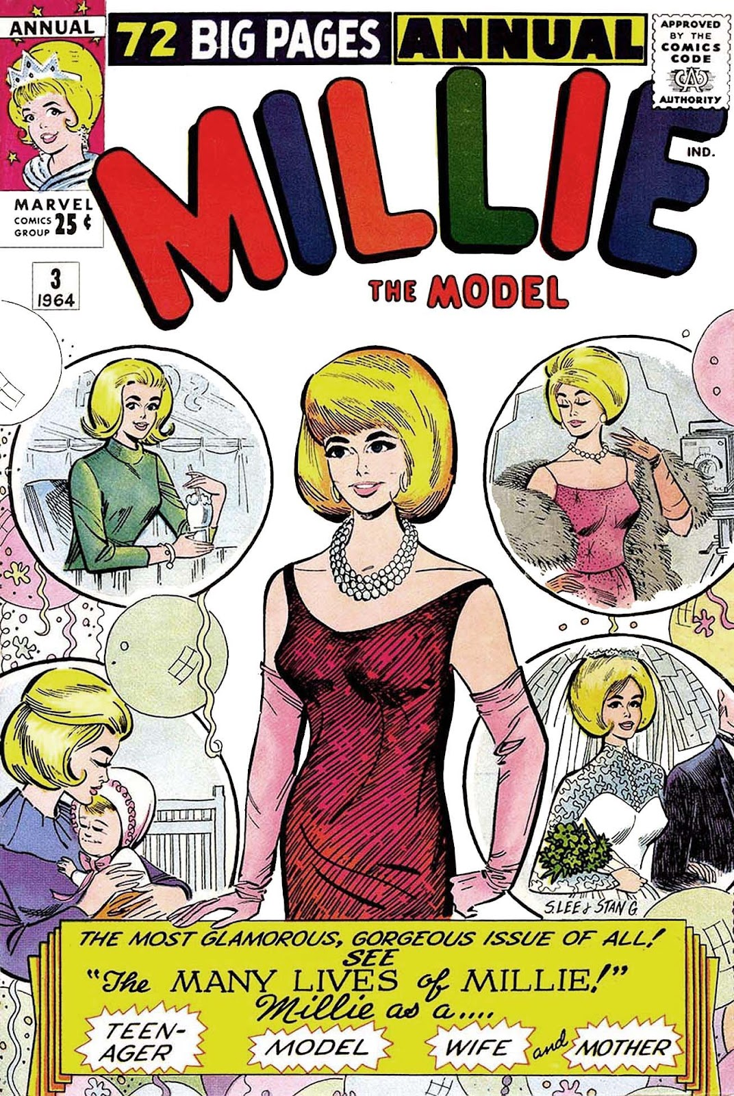 Read online Millie the Model comic -  Issue # Annual 3 - 1