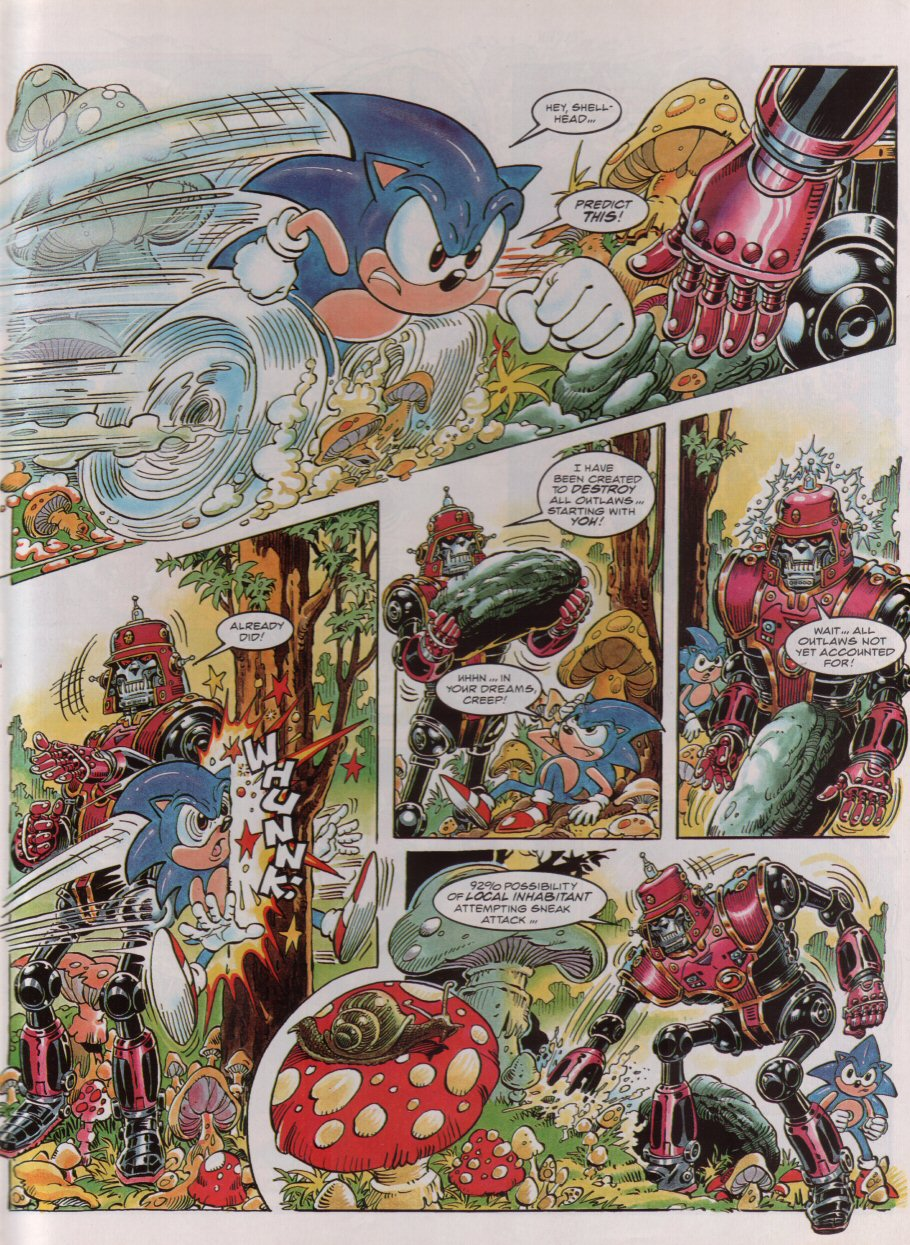 Read online Sonic the Comic comic -  Issue #54 - 7