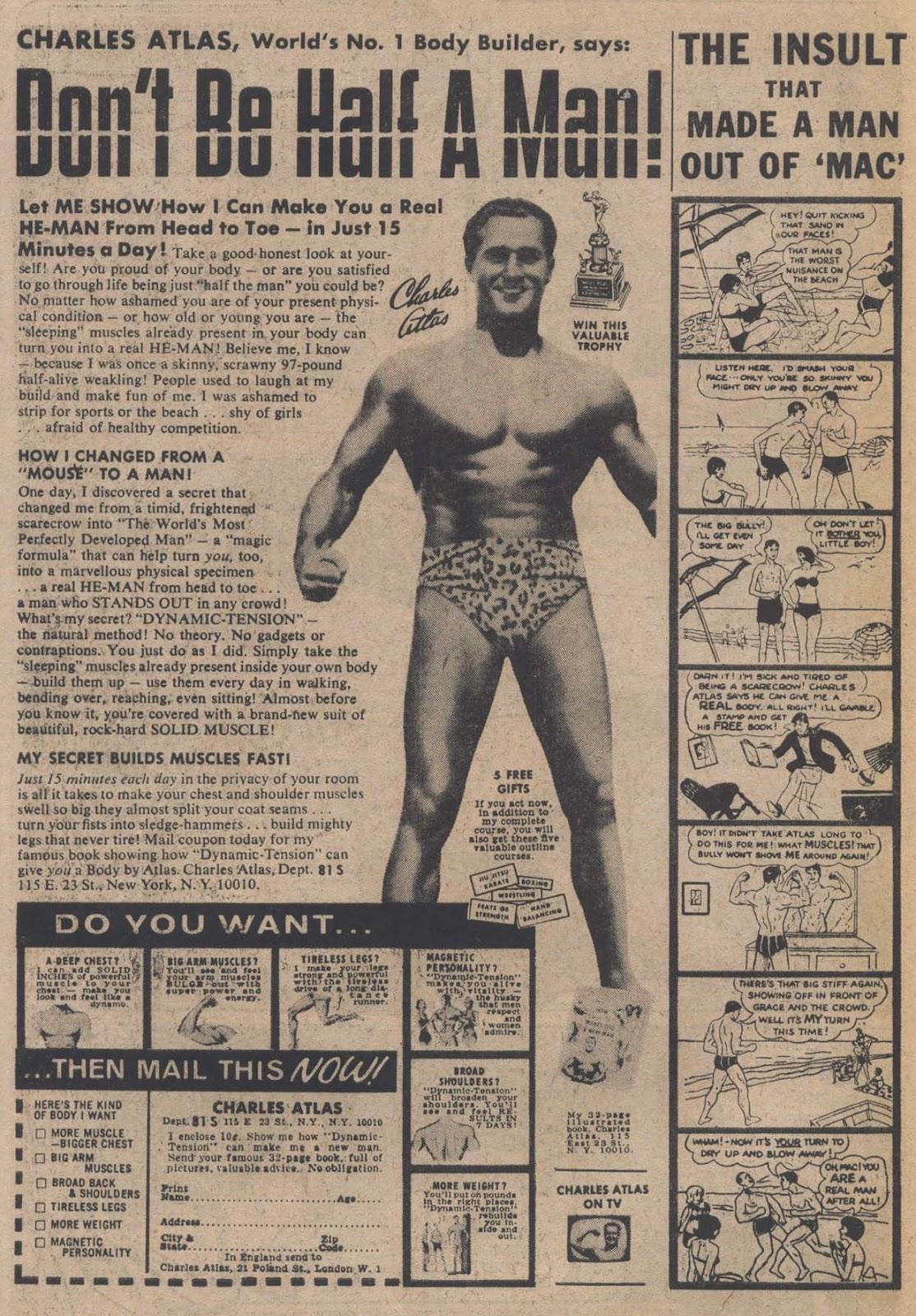 Read online Strange Sports Stories (1973) comic -  Issue #5 - 33