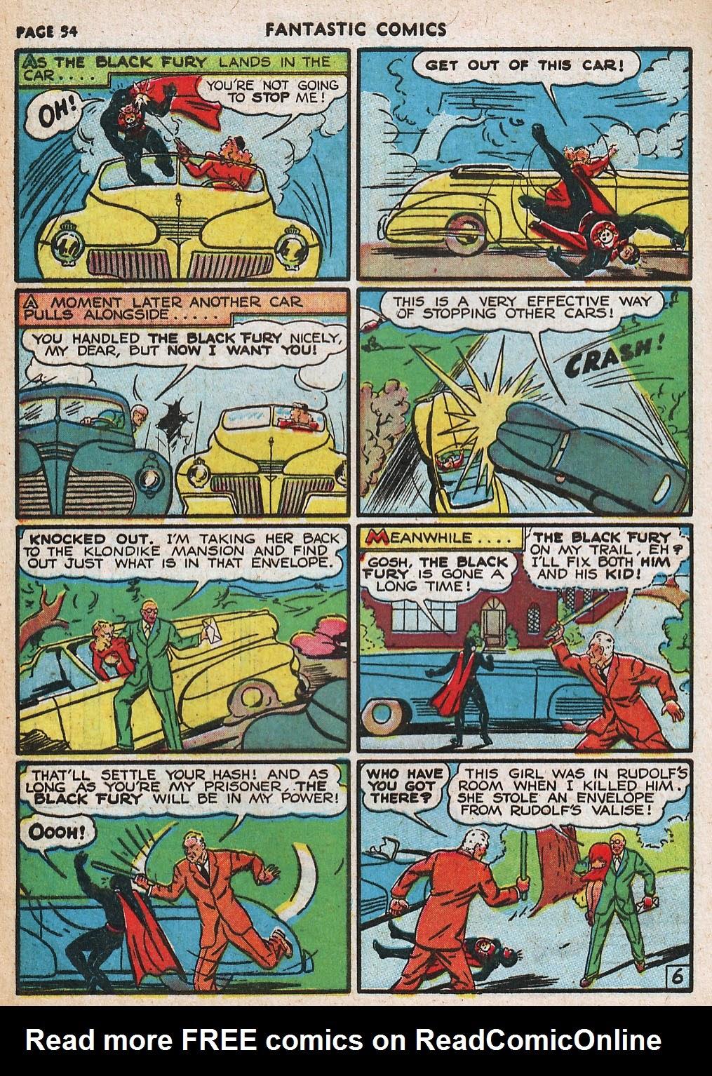 Read online Fantastic Comics comic -  Issue #20 - 54