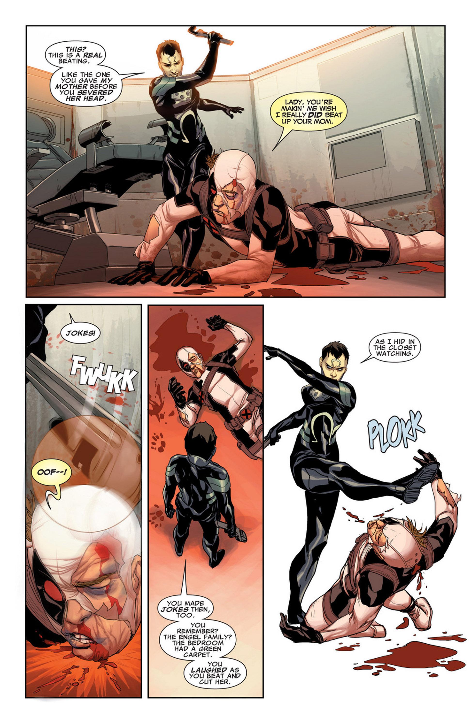 Uncanny X-Force (2010) #33 #35 - English 13