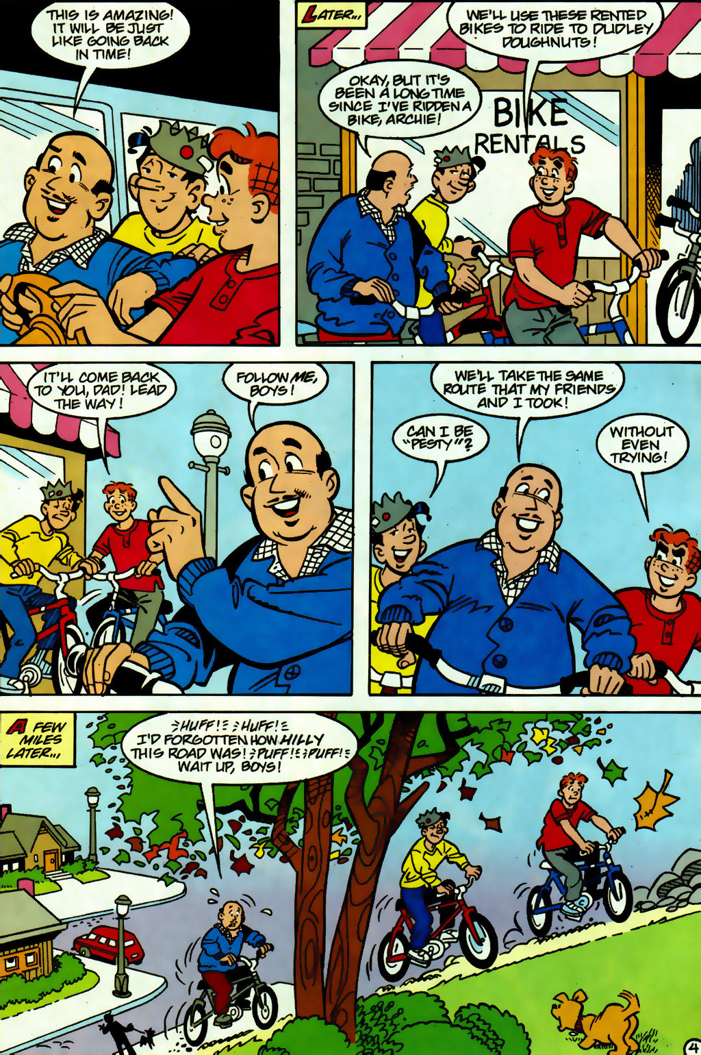 Read online Archie (1960) comic -  Issue #560 - 21