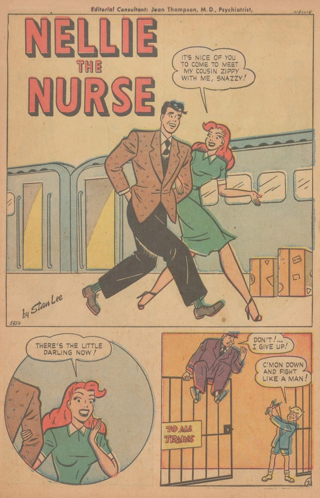 Read online Nellie The Nurse (1945) comic -  Issue #21 - 3