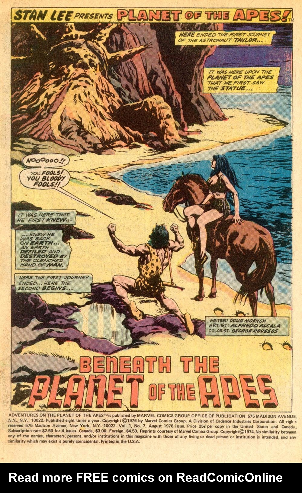 Read online Adventures on the Planet of the Apes comic -  Issue #7 - 2