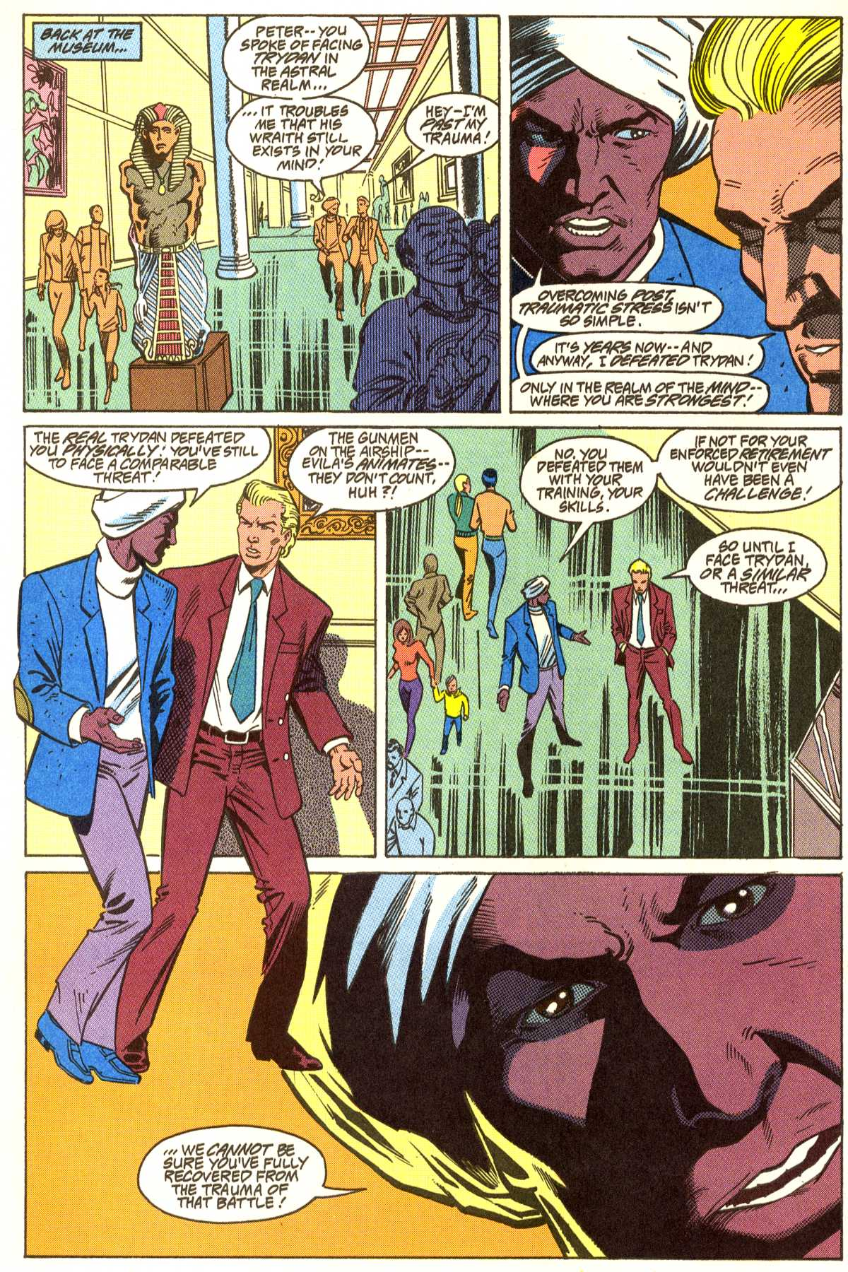 Read online Peter Cannon--Thunderbolt (1992) comic -  Issue #5 - 13