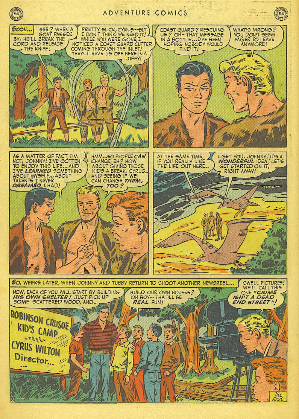 Read online Adventure Comics (1938) comic -  Issue #155 - 24