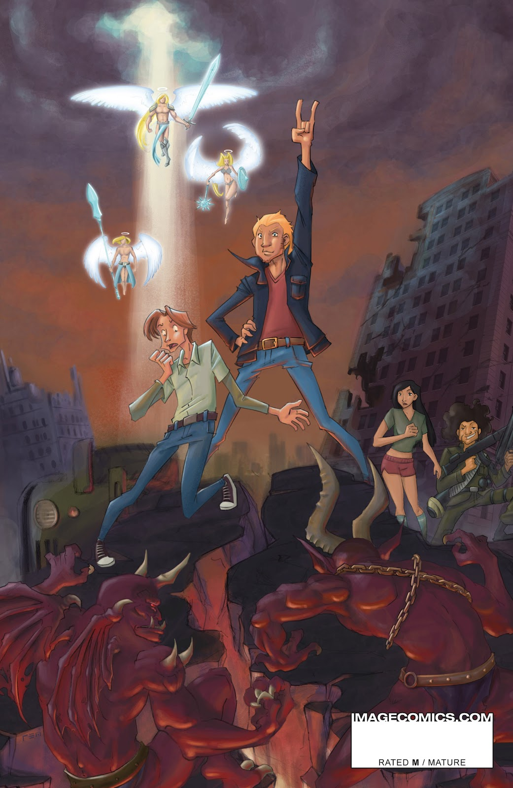 Read online The End Times of Bram and Ben comic -  Issue #4 - 31